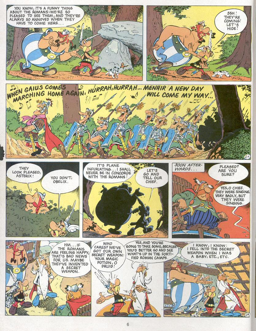 Read online Asterix comic -  Issue #24 - 3