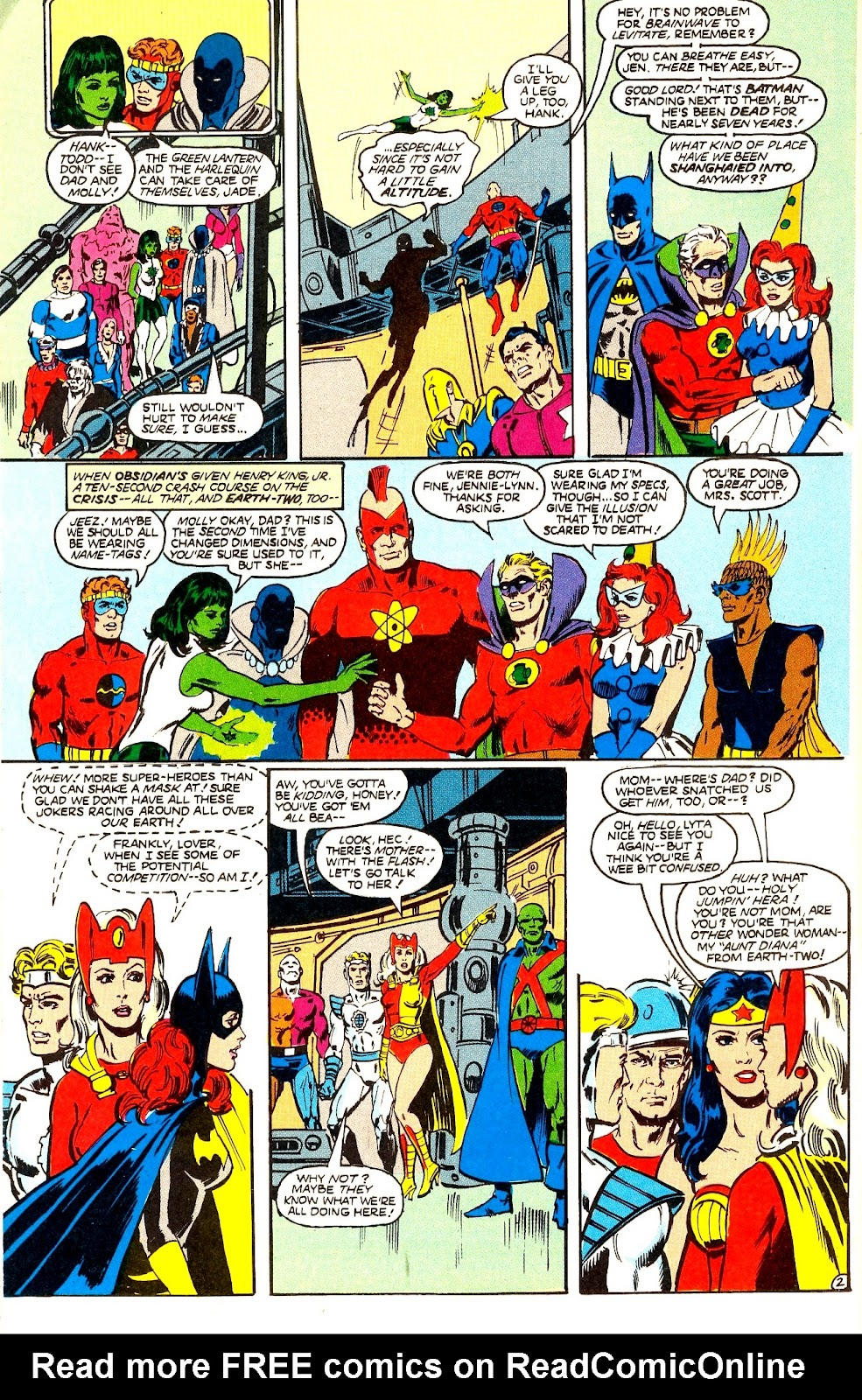 Infinity Inc. (1984) issue 22 - Page 4