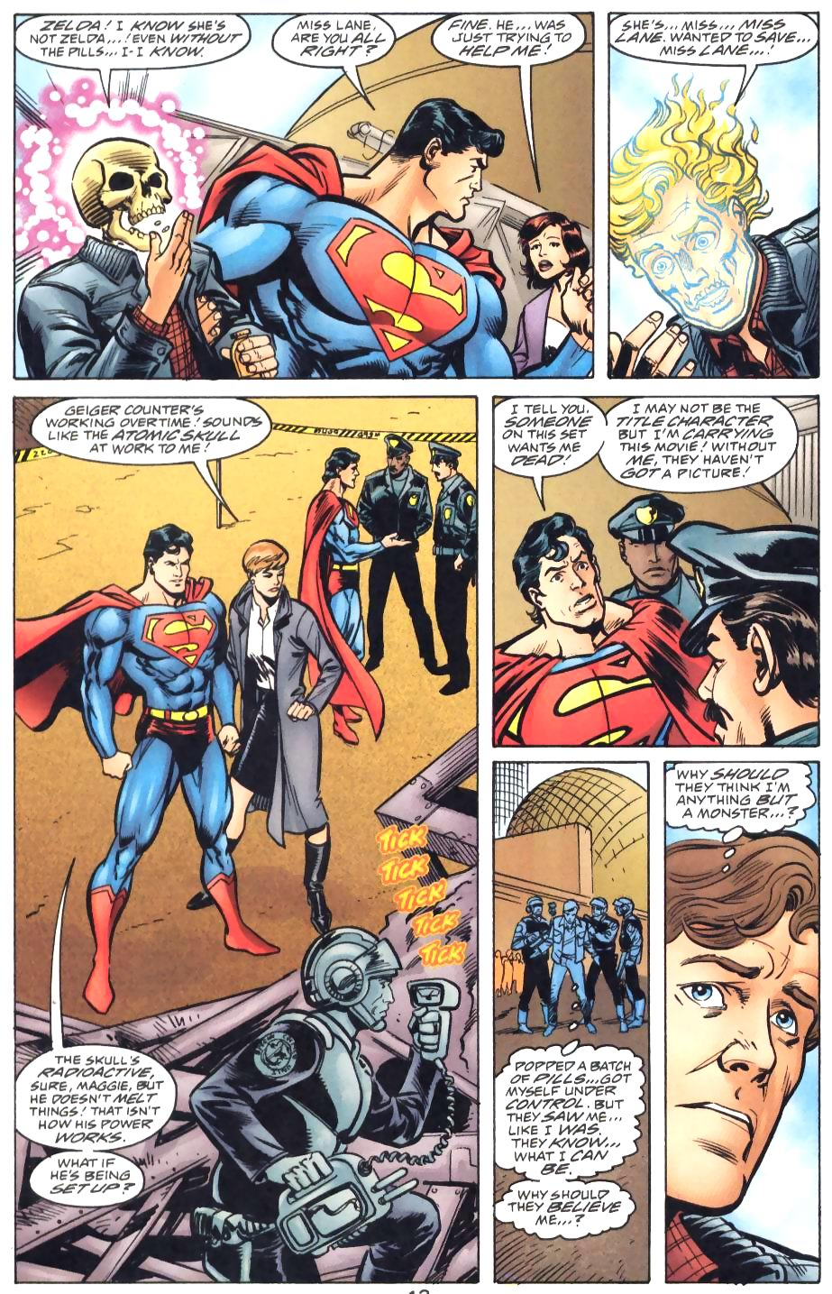 Read online Adventures of Superman (1987) comic -  Issue #571 - 15