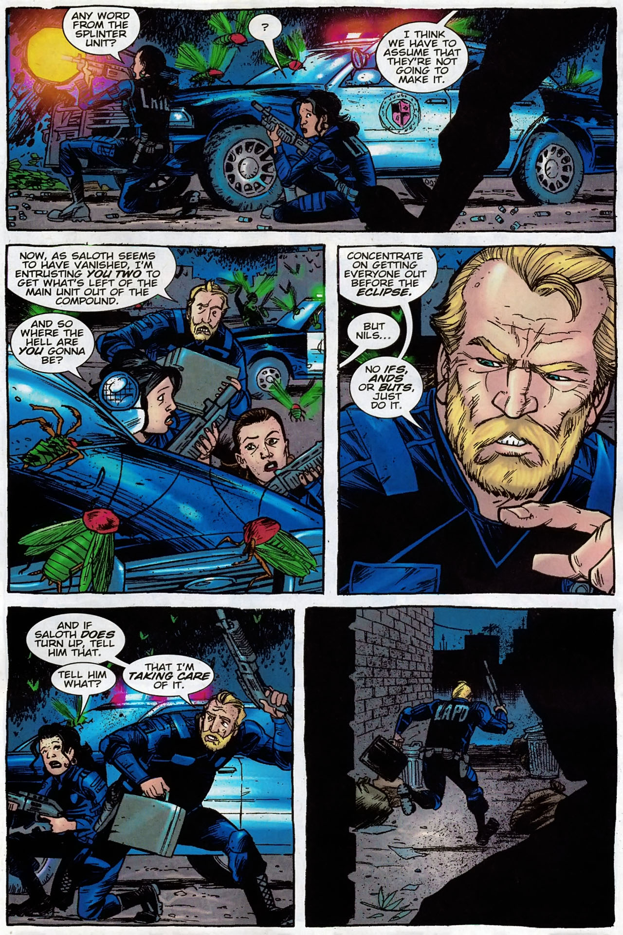 Read online The Exterminators comic -  Issue #30 - 8