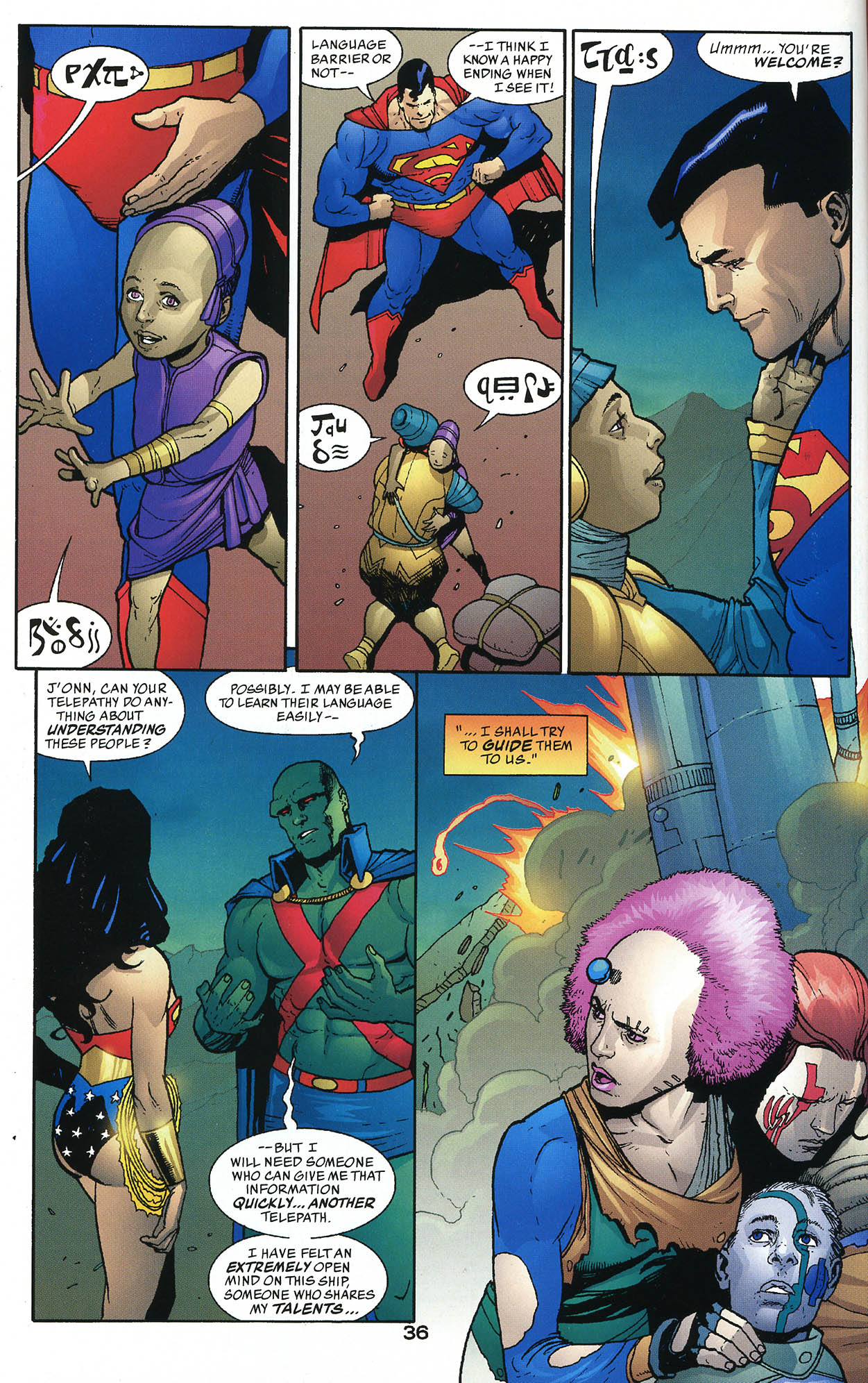 Read online JLA/Haven: Arrival comic -  Issue # Full - 35