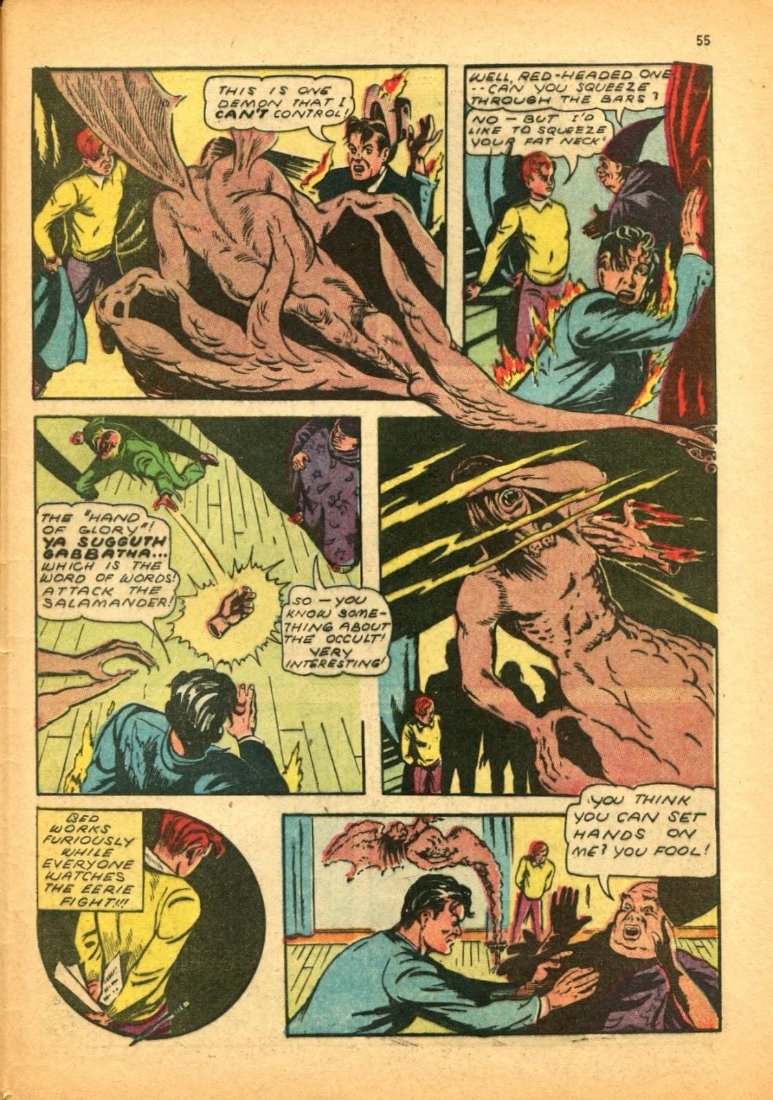 Read online Super-Magician Comics comic -  Issue #12 - 55