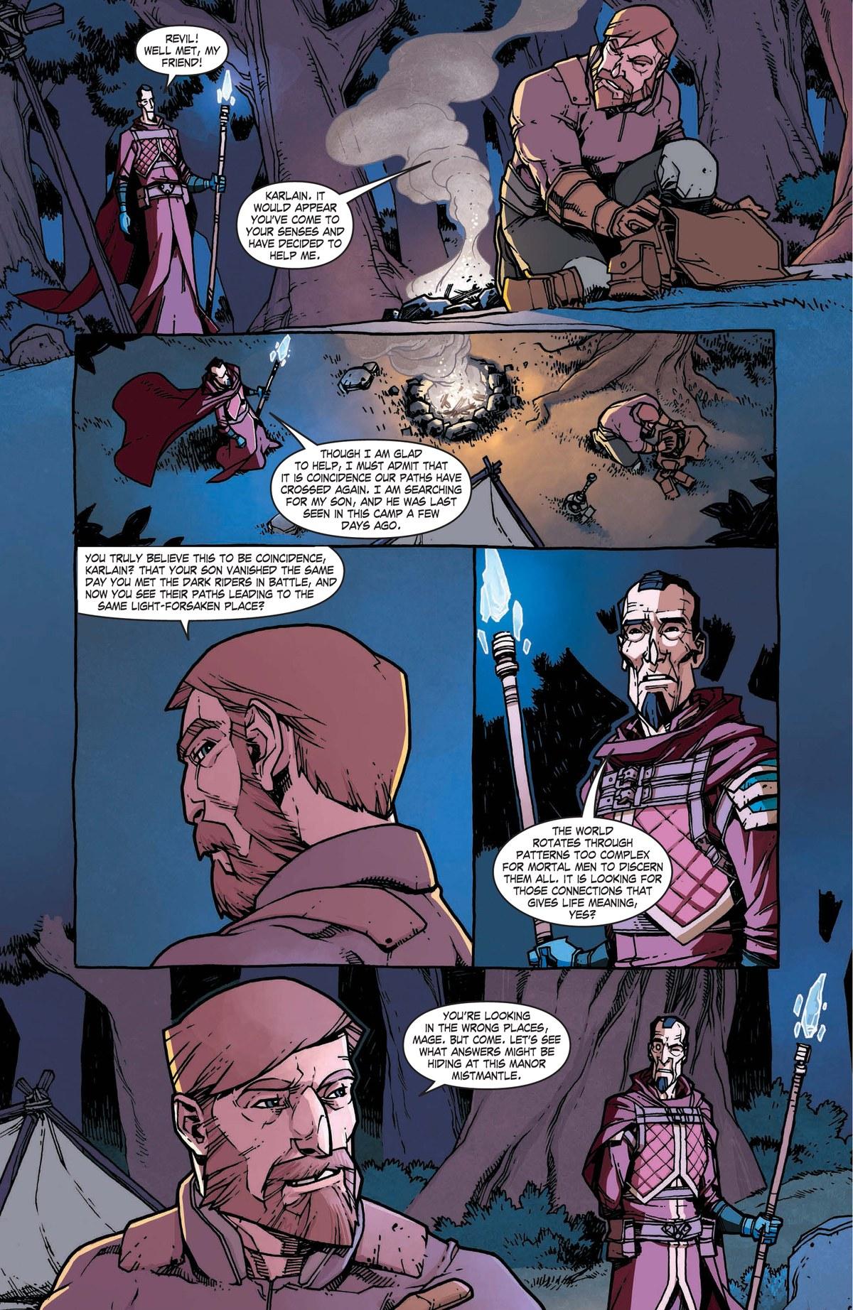 Read online World of Warcraft: Dark Riders comic -  Issue # Full - 43