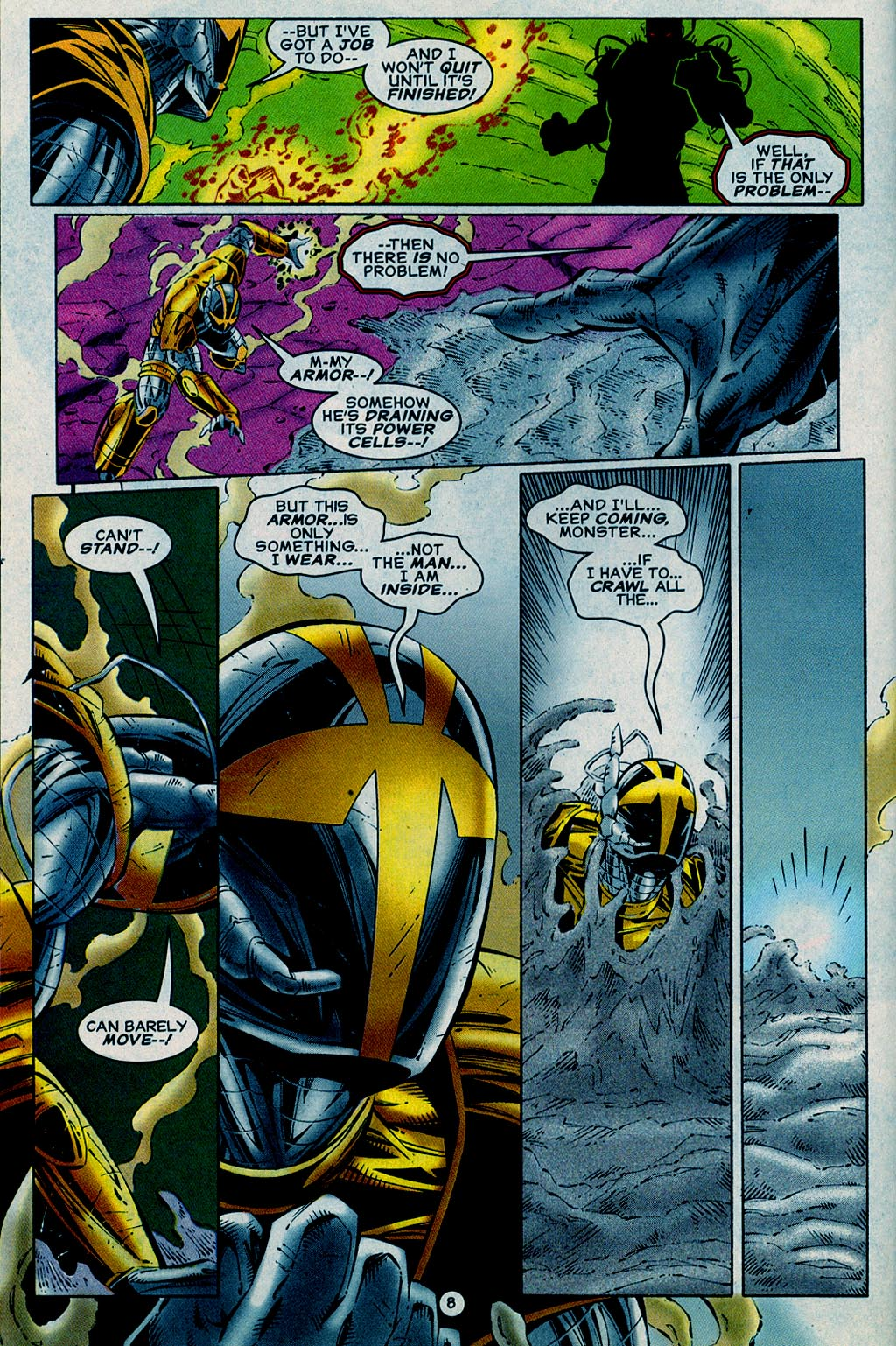 Read online UltraForce (1995) comic -  Issue #15 - 9