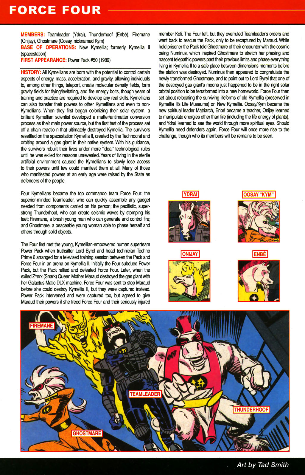 Read online All-New Official Handbook of the Marvel Universe A to Z comic -  Issue #4 - 42