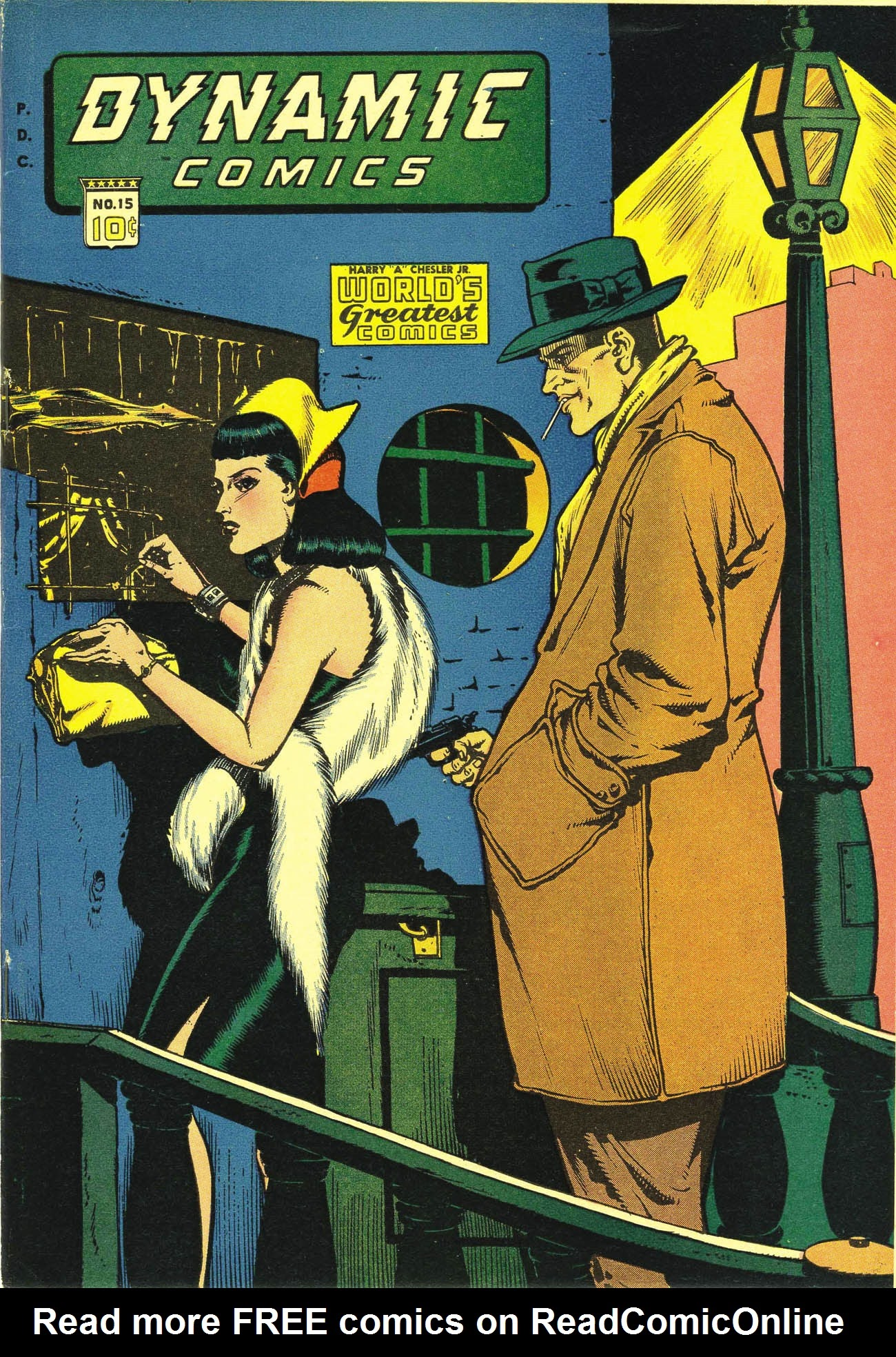 Dynamic Comics 15 Page 1