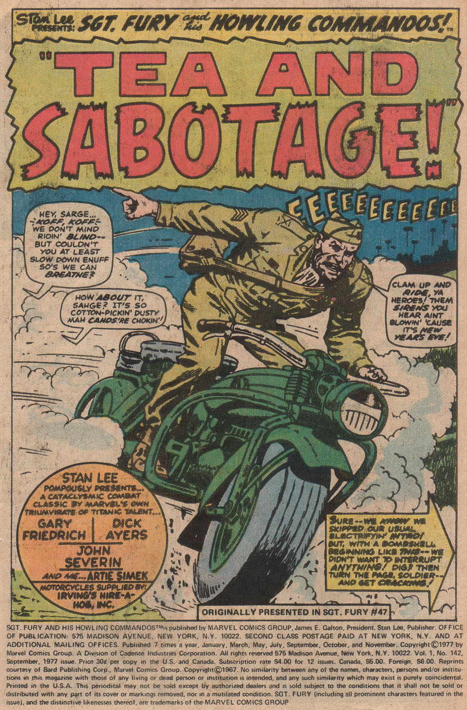 Read online Sgt. Fury comic -  Issue #142 - 3
