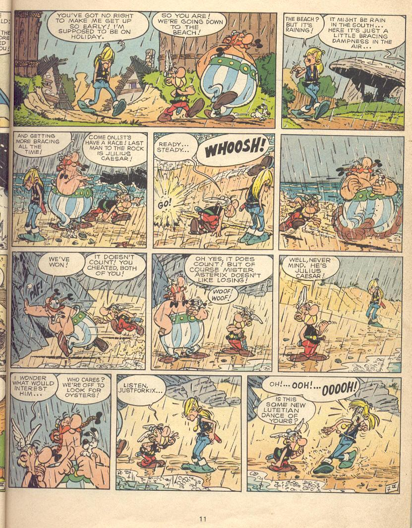 Read online Asterix comic -  Issue #9 - 8