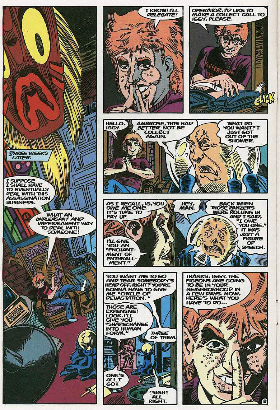 Elementals (1984) issue 19 - Page 10