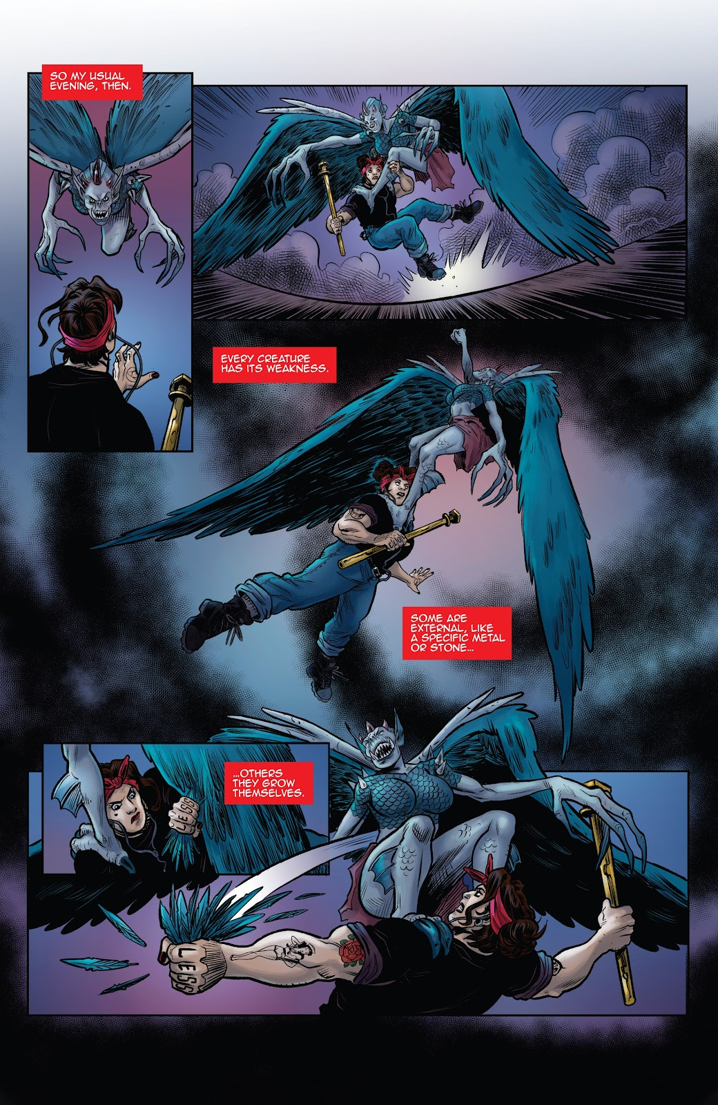 Read online Black Betty comic -  Issue #8 - 19