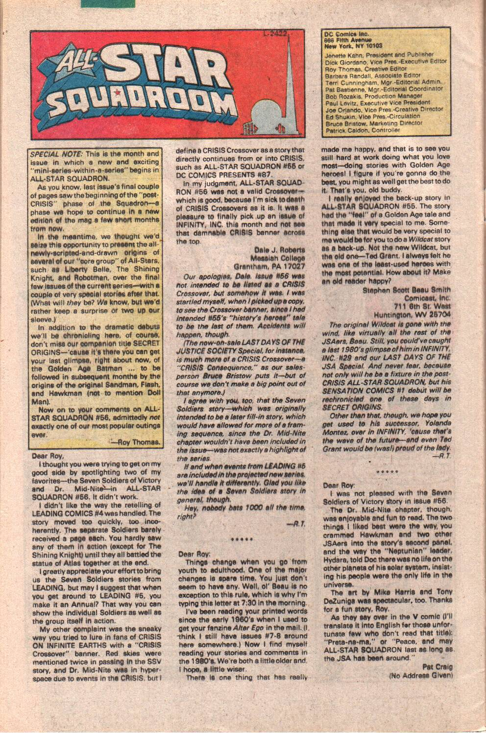 Read online All-Star Squadron comic -  Issue #61 - 32