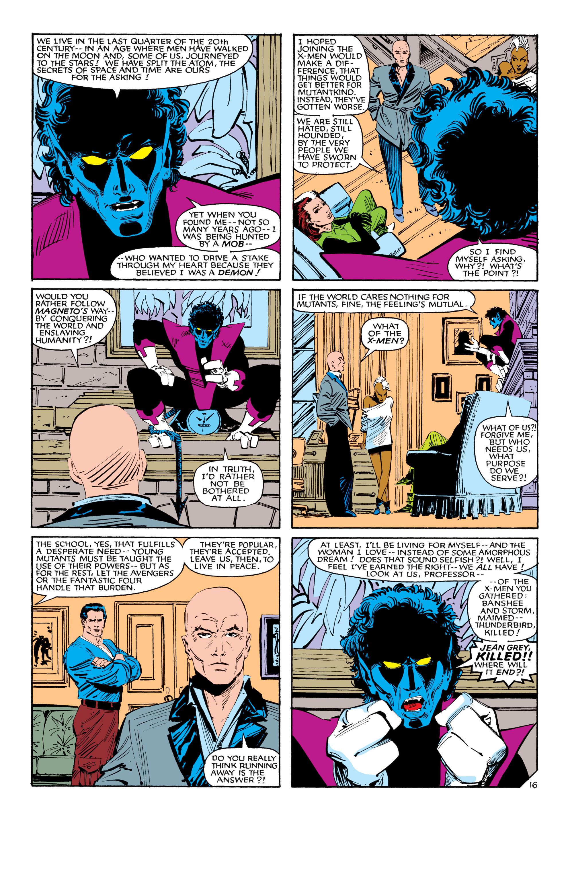 Read online Uncanny X-Men (1963) comic -  Issue #188 - 17