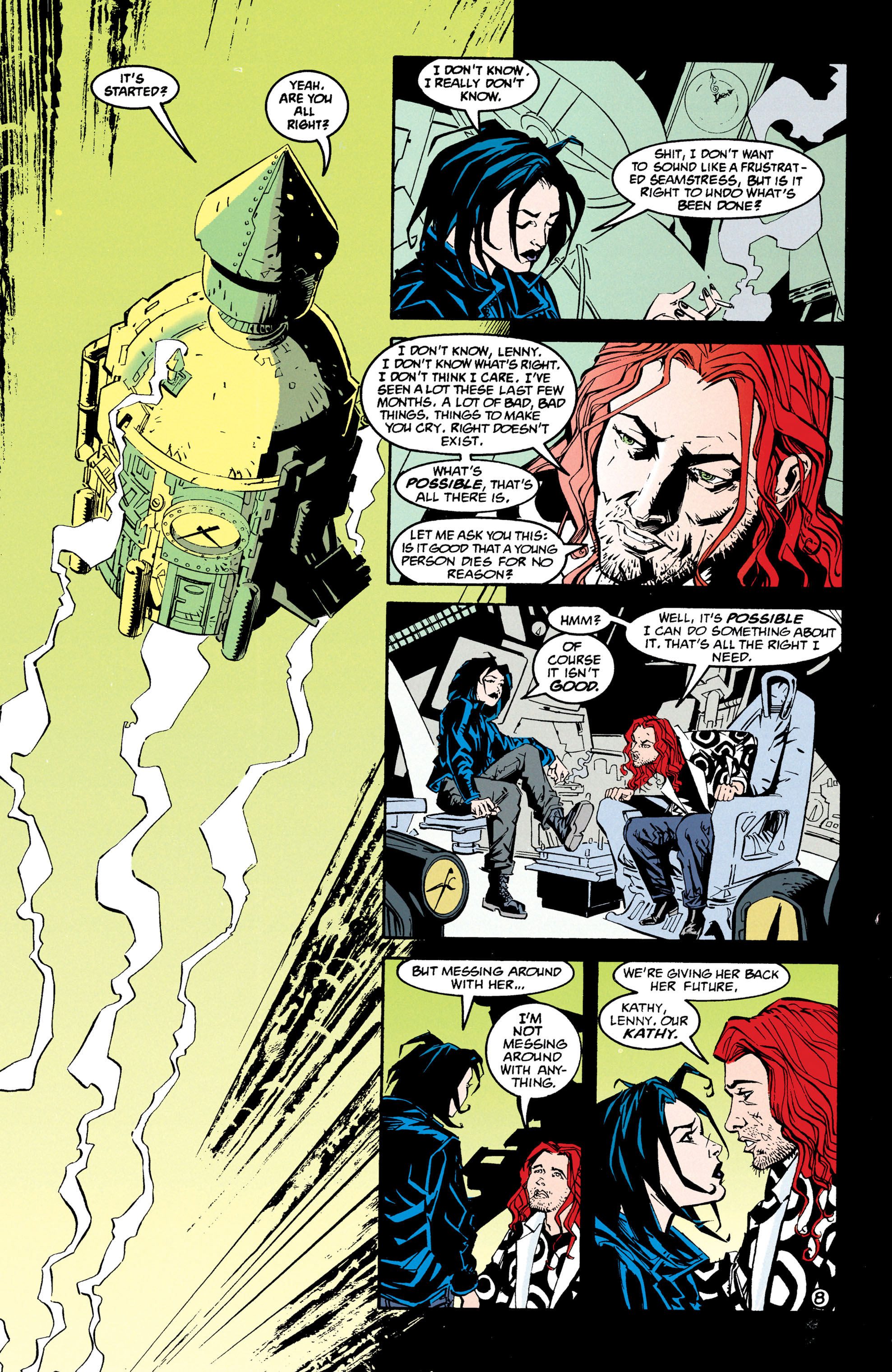 Read online Shade, the Changing Man comic -  Issue #68 - 9