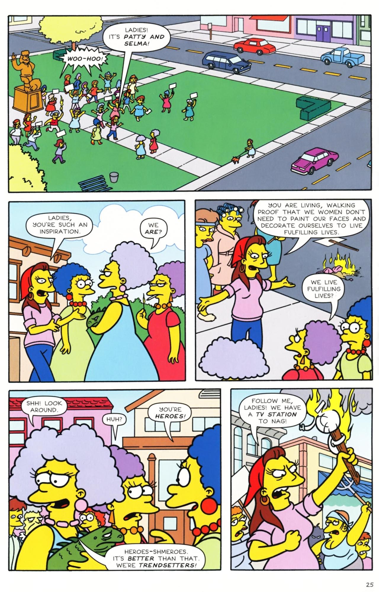 Read online Simpsons Comics comic -  Issue #157 - 21