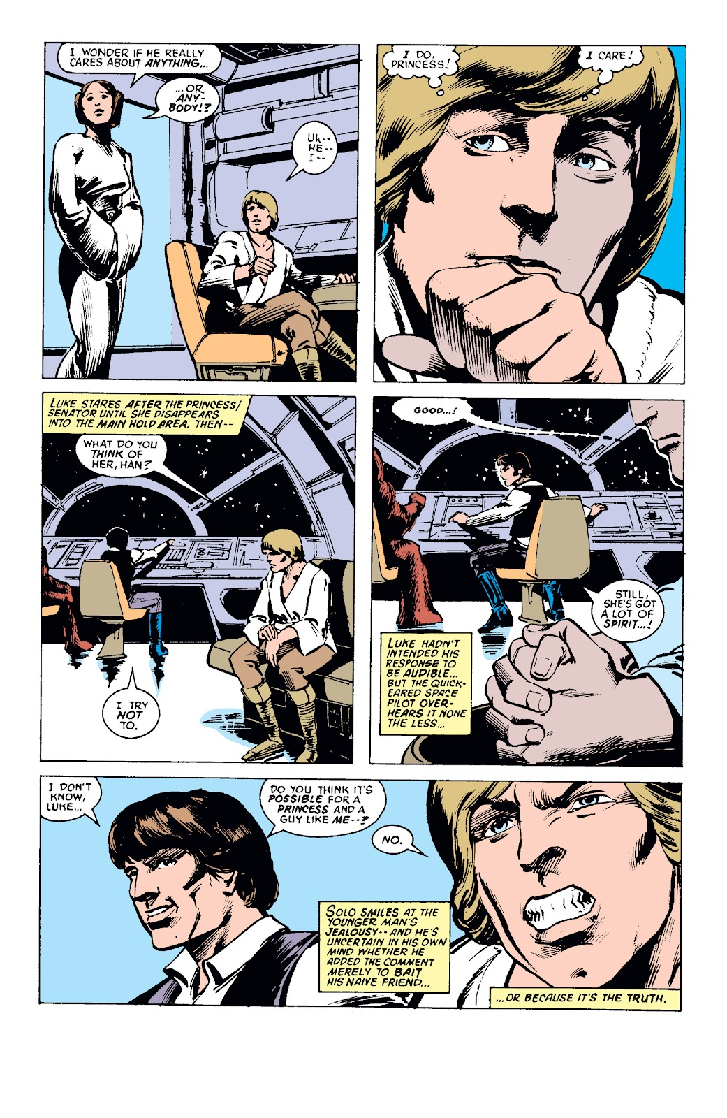 Read online Star Wars Legends: The Original Marvel Years - Epic Collection comic -  Issue # TPB 1 (Part 1) - 90