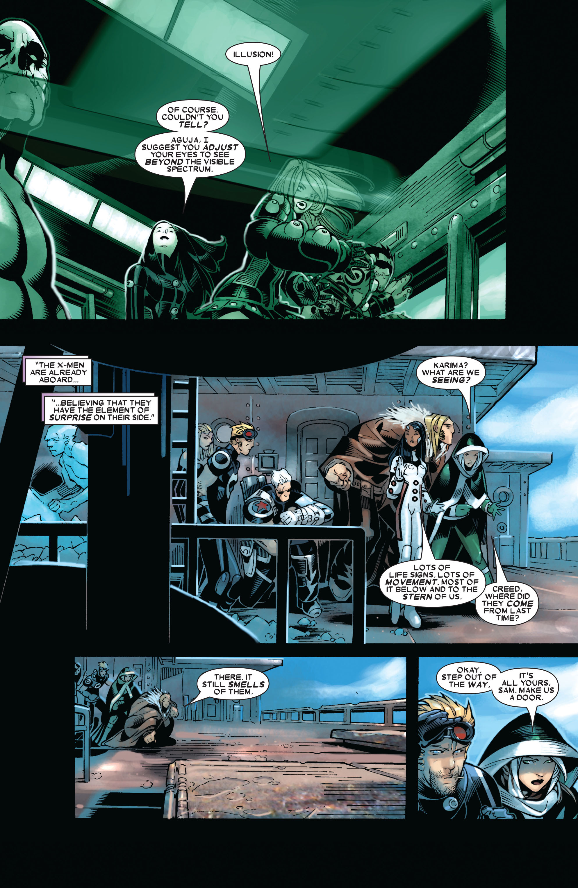 X-Men (1991) 192 Page 17