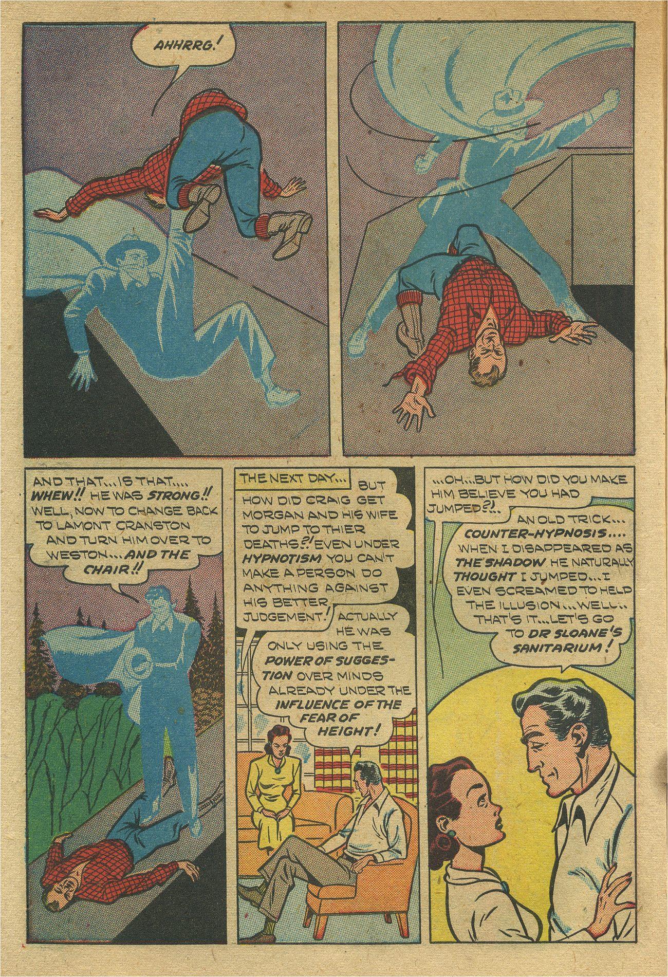 Read online Shadow Comics comic -  Issue #93 - 15