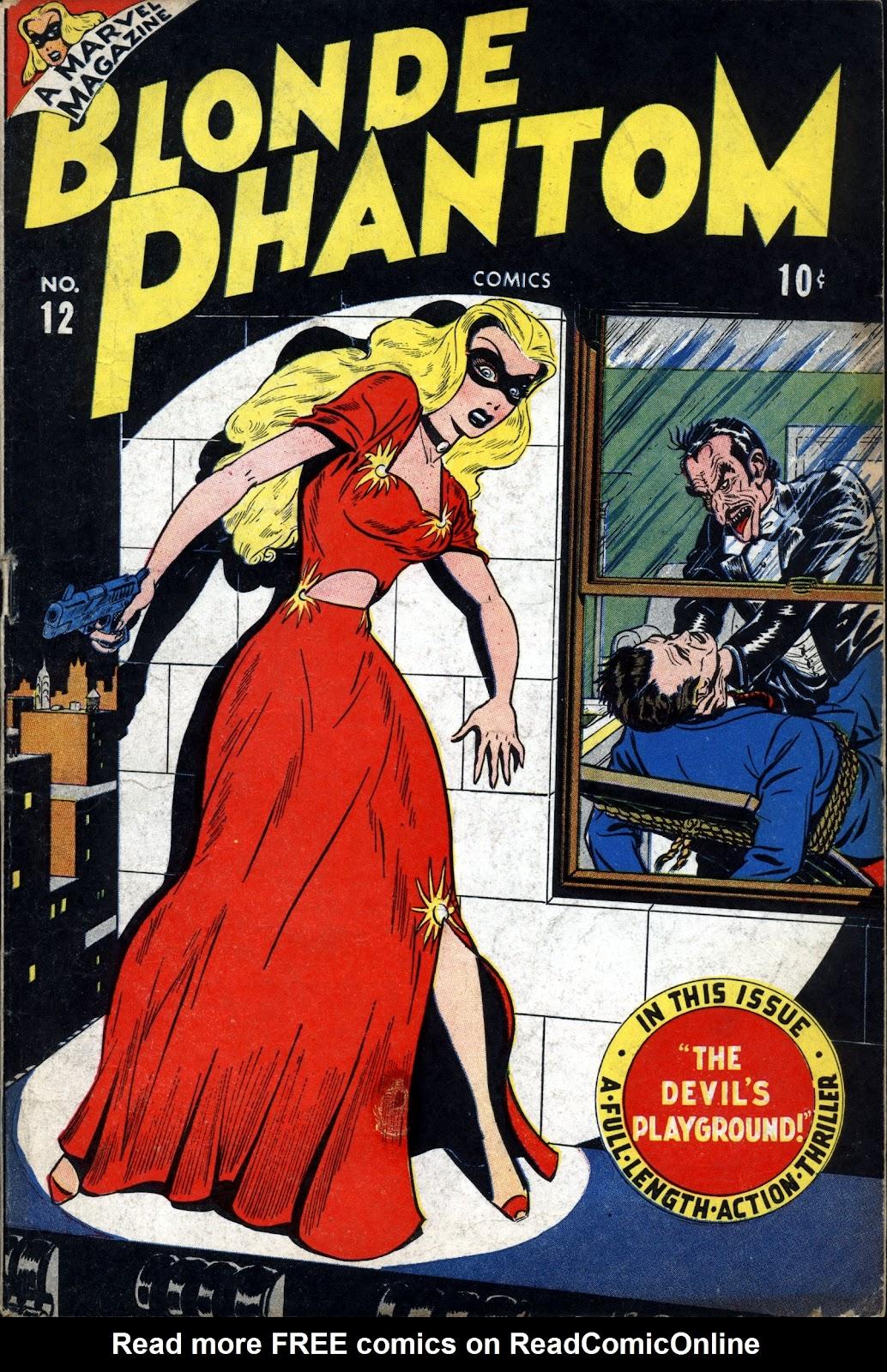 Blonde Phantom Comics issue 12 - Page 1