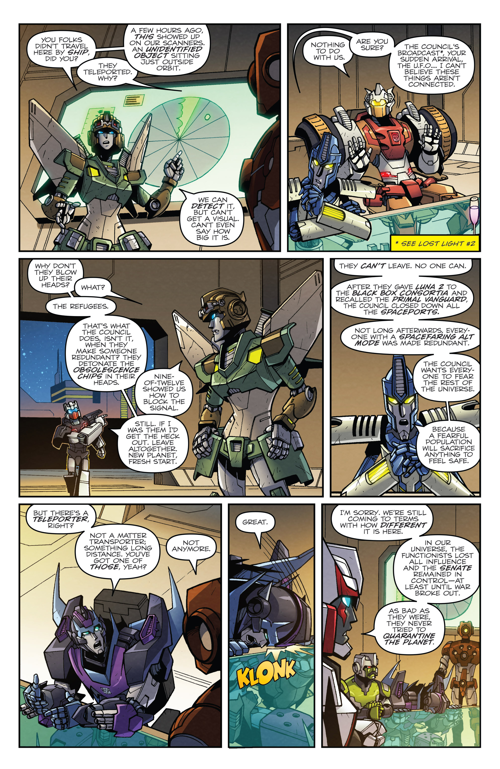 Read online Transformers: Lost Light comic -  Issue #3 - 12