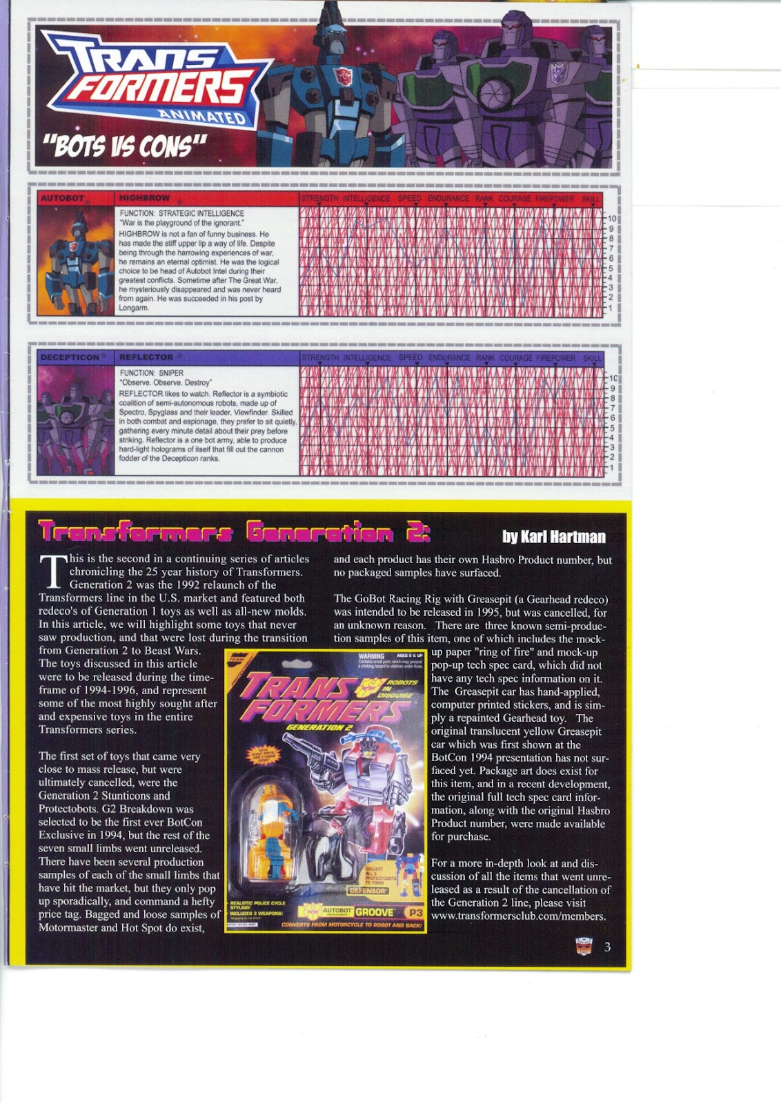 Read online Transformers: Collectors' Club comic -  Issue #26 - 3