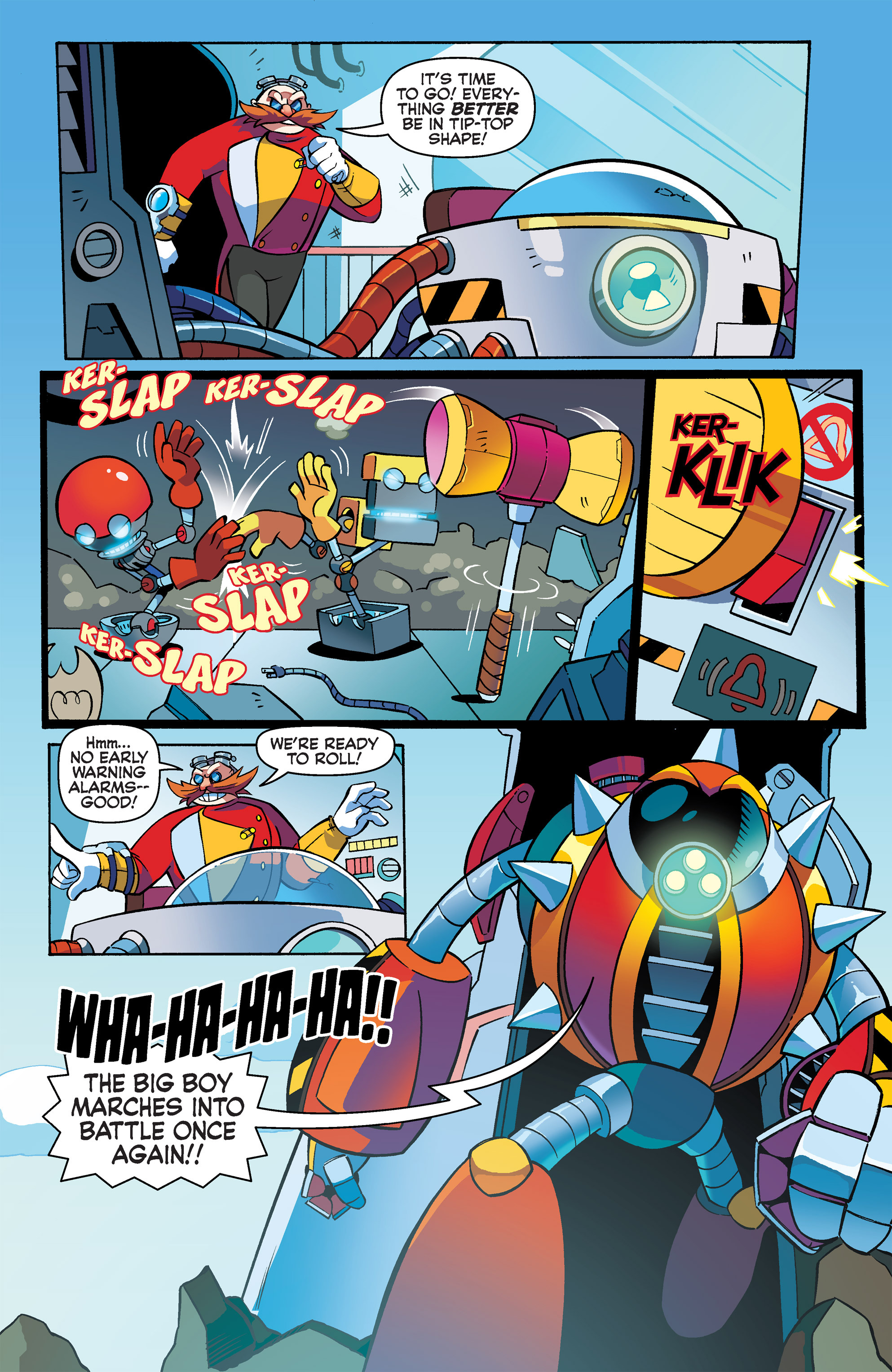 Read online Sonic Boom comic -  Issue #3 - 16