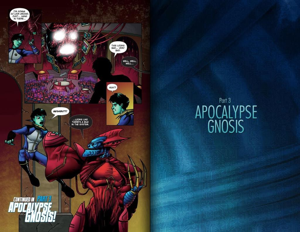 Read online ReBoot: Paradigms Lost comic -  Issue # Full - 24