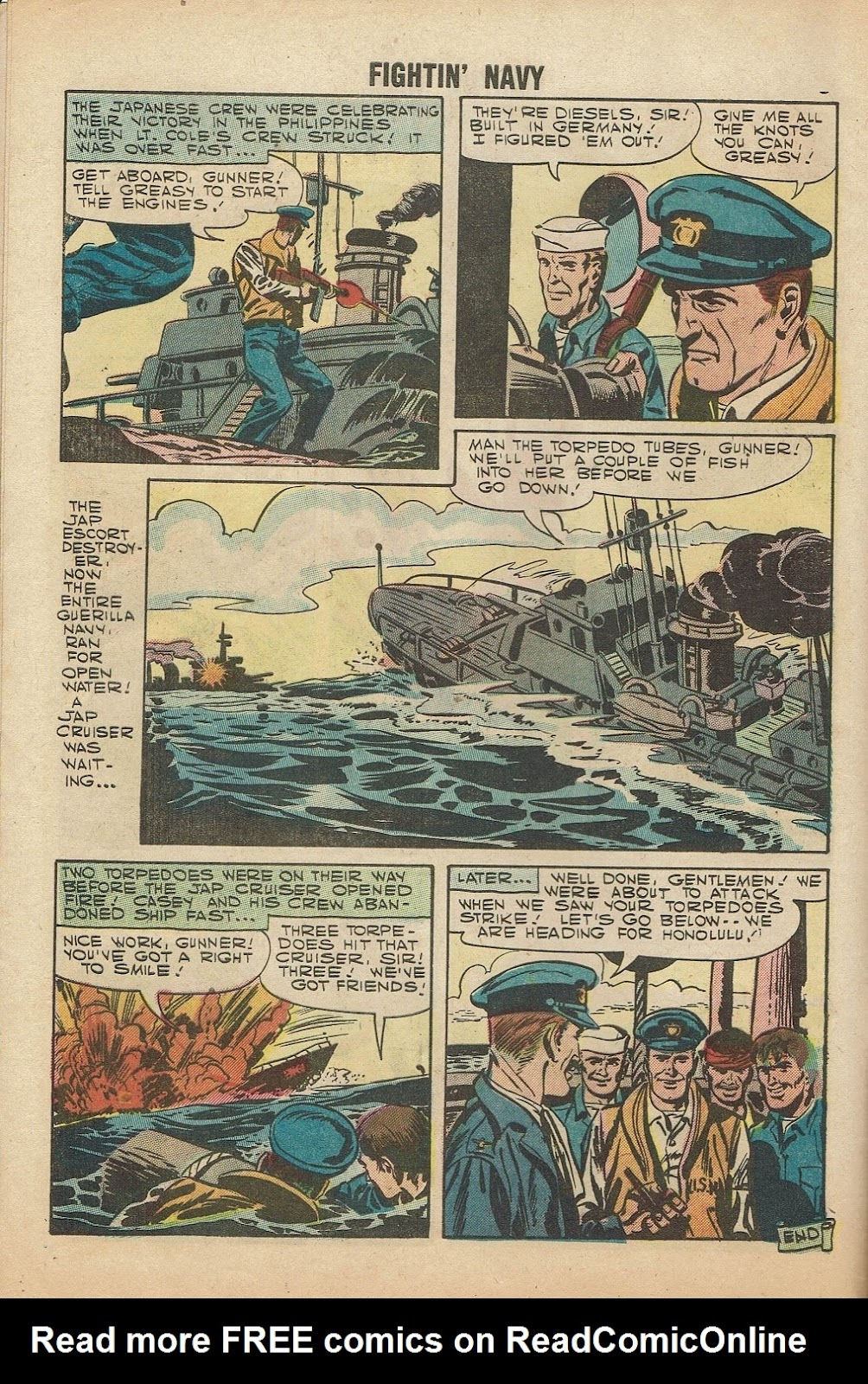 Read online Fightin' Navy comic -  Issue #81 - 8