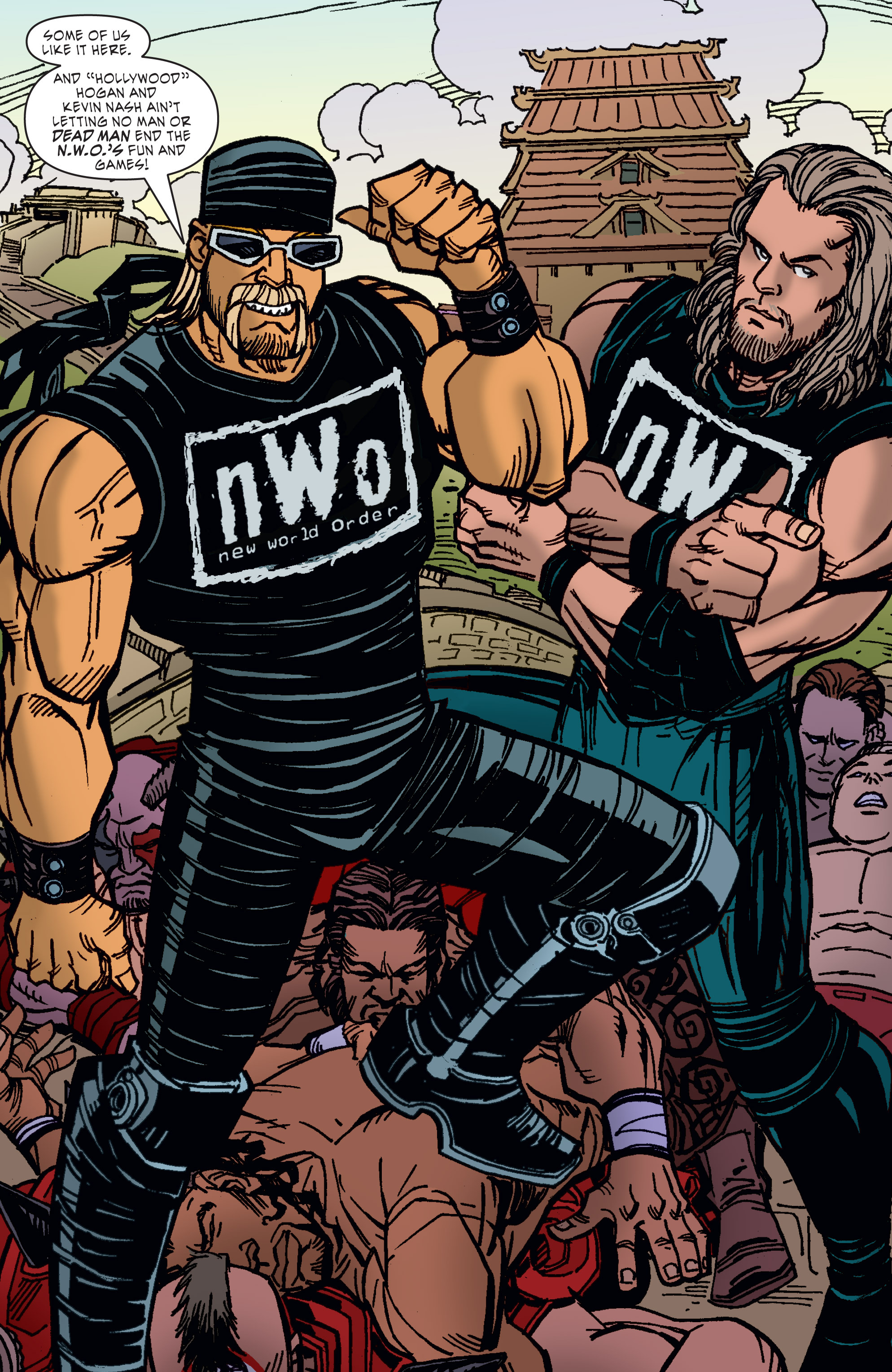 Read online WWE Superstars comic -  Issue #11 - 11