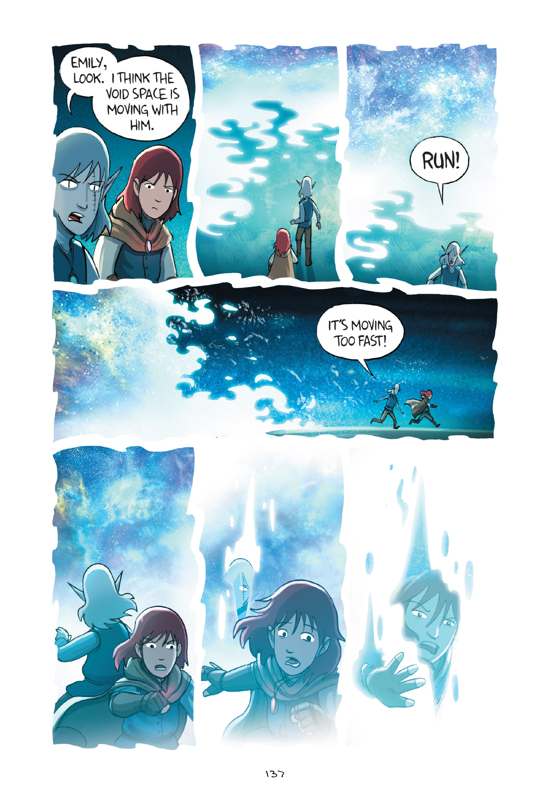 Read online Amulet comic -  Issue #7 - 137