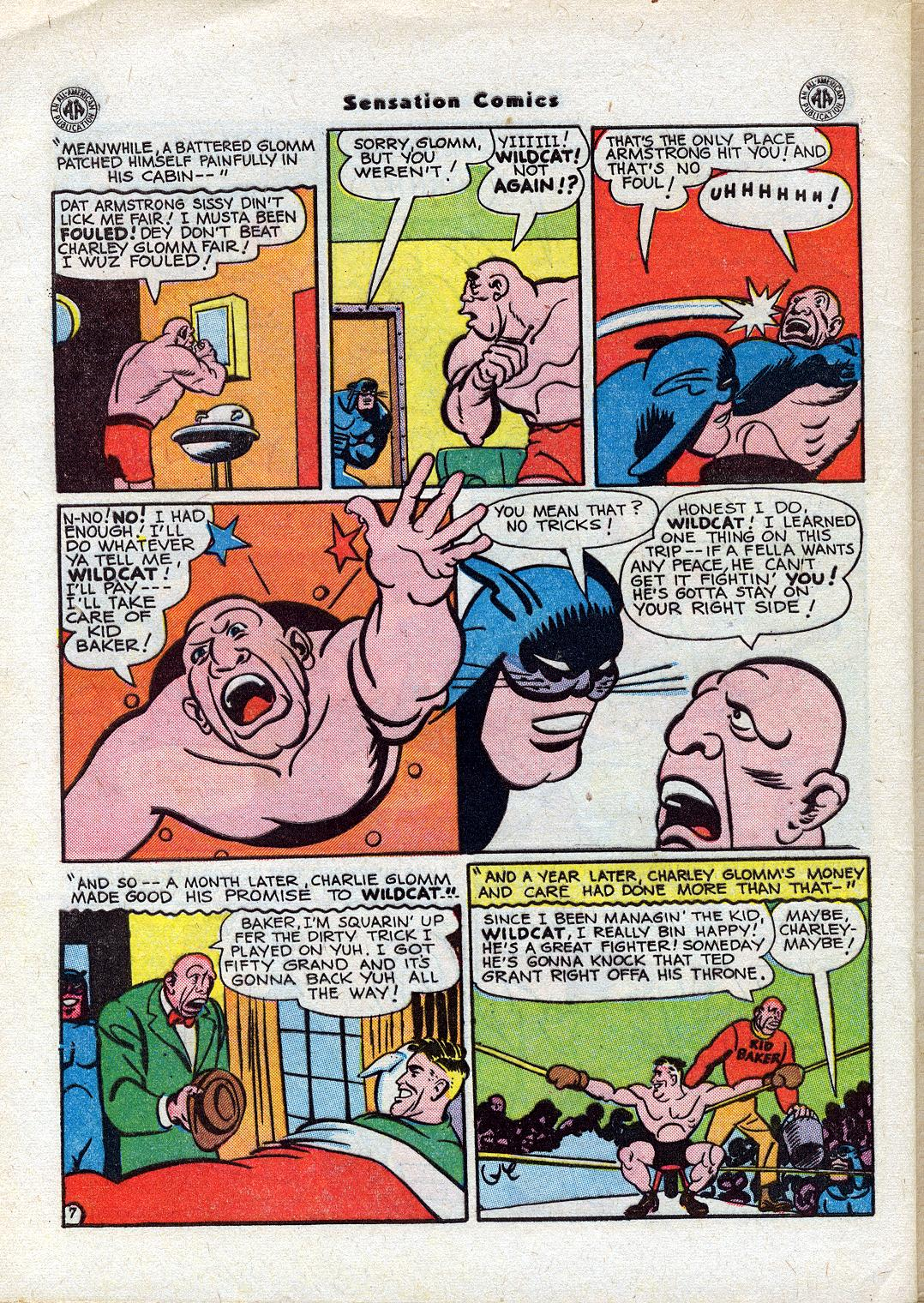 Read online Sensation (Mystery) Comics comic -  Issue #44 - 48