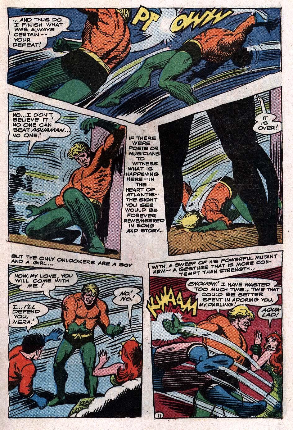 Read online Aquaman (1962) comic -  Issue #34 - 17