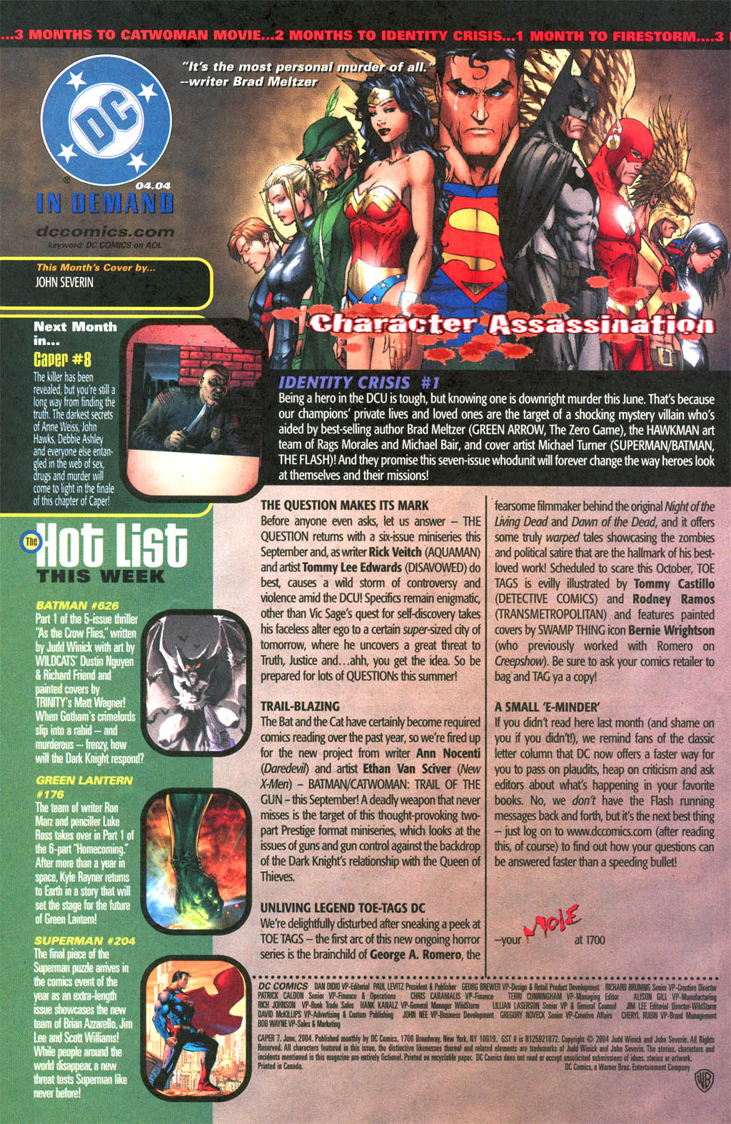 Read online Caper comic -  Issue #7 - 24