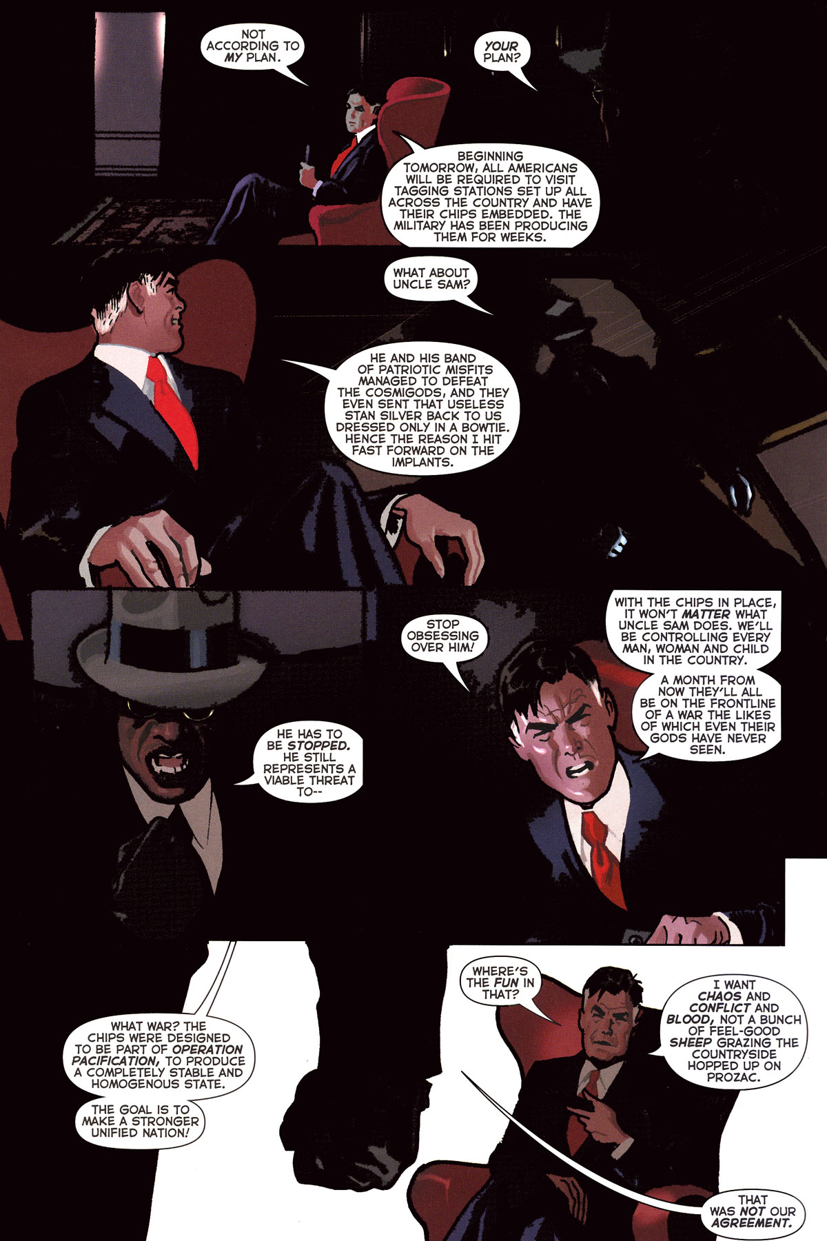 Read online Uncle Sam and the Freedom Fighters (2006) comic -  Issue #7 - 16