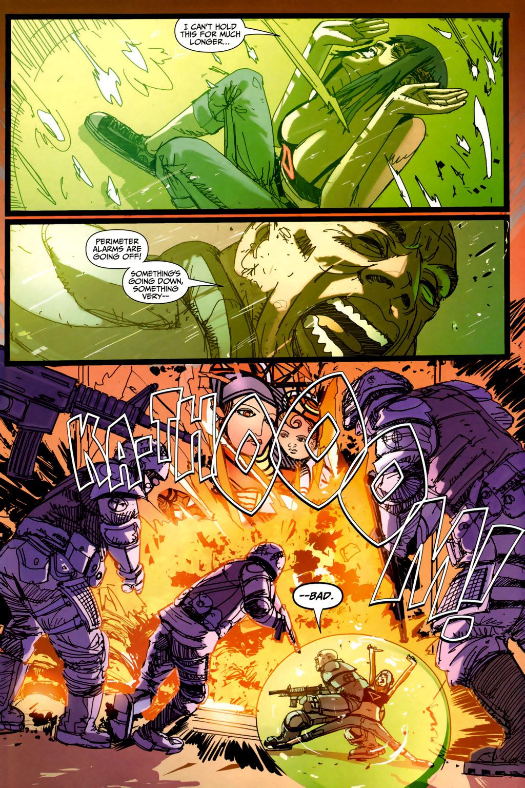 Read online Strange Girl comic -  Issue #6 - 21