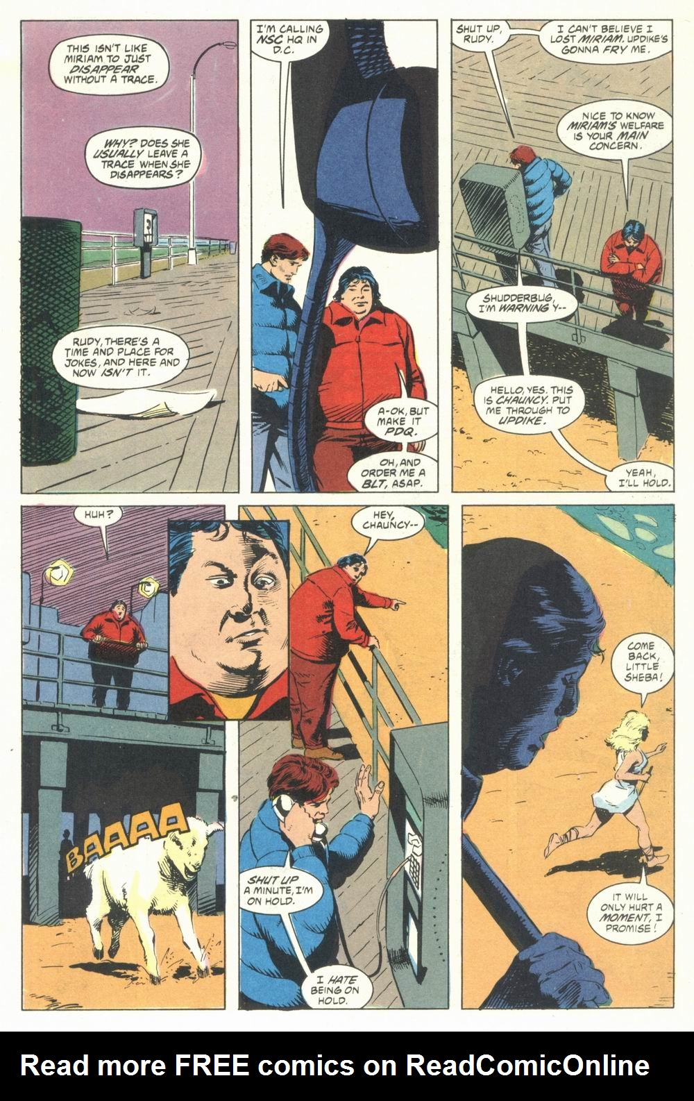 Read online Justice (1986) comic -  Issue #31 - 3
