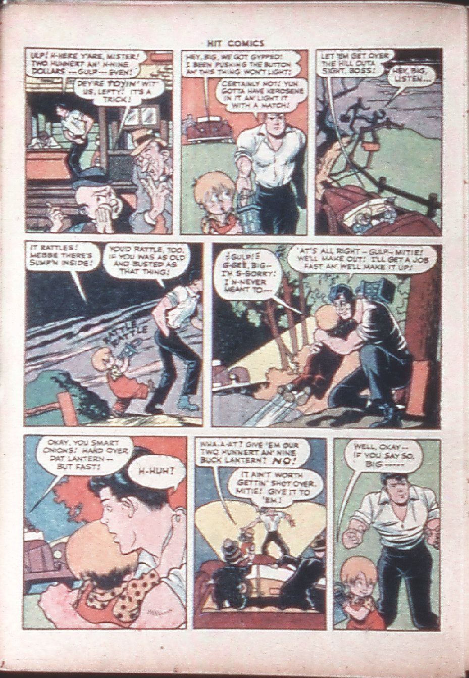 Read online Hit Comics comic -  Issue #36 - 36