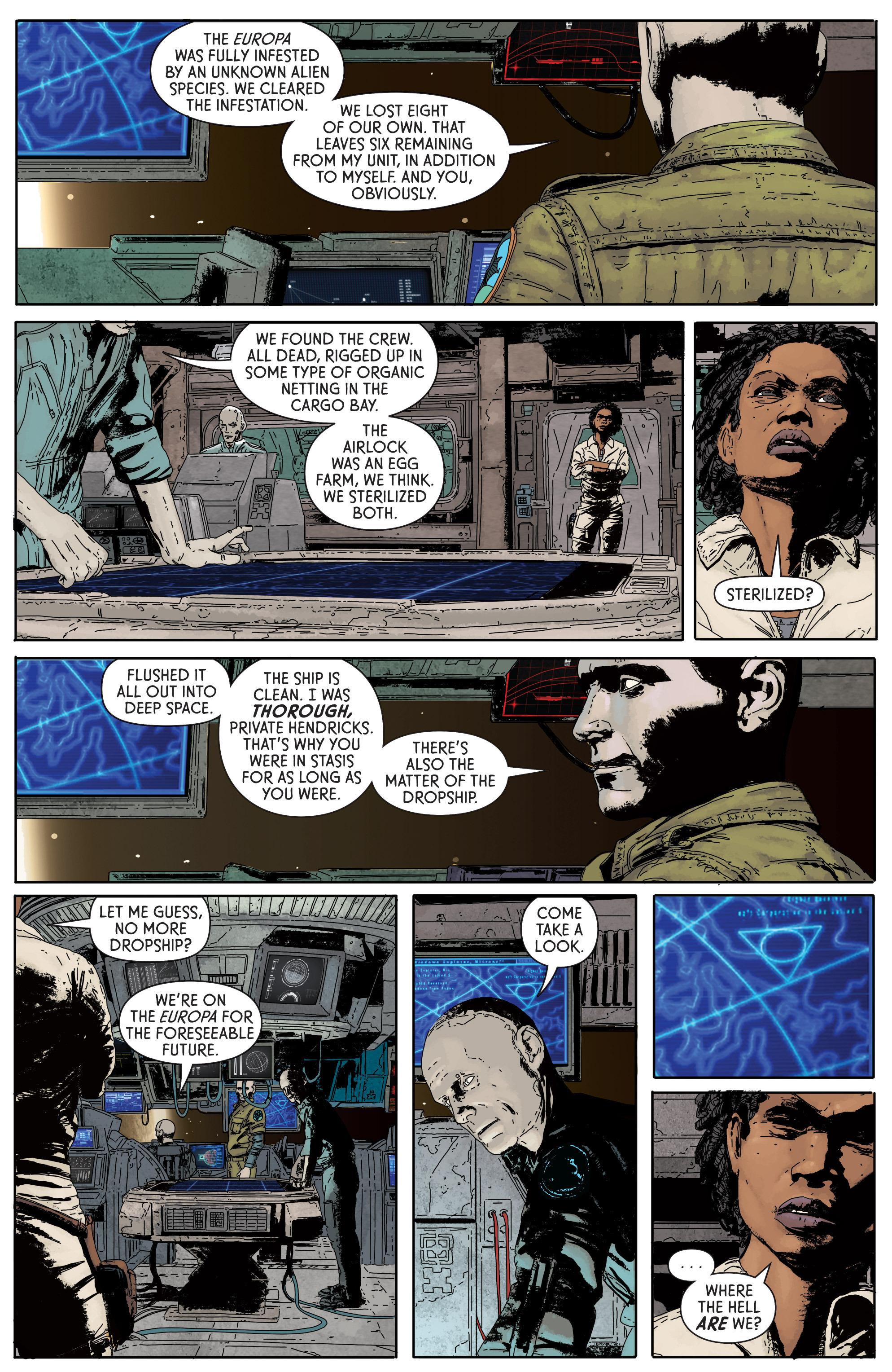 Read online Aliens: Defiance comic -  Issue #1 - 25