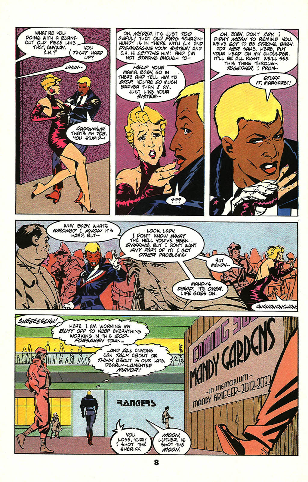 Read online American Flagg! comic -  Issue #47 - 10