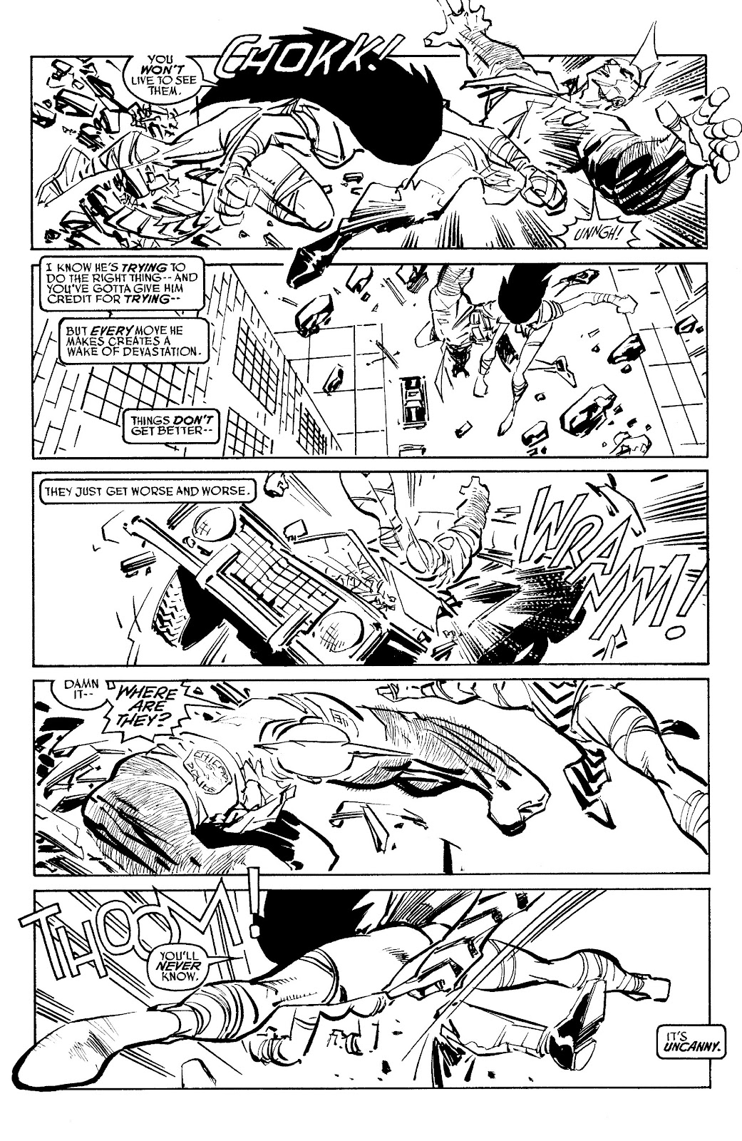 Read online Savage Dragon Archives comic -  Issue # TPB 6 (Part 5) - 9