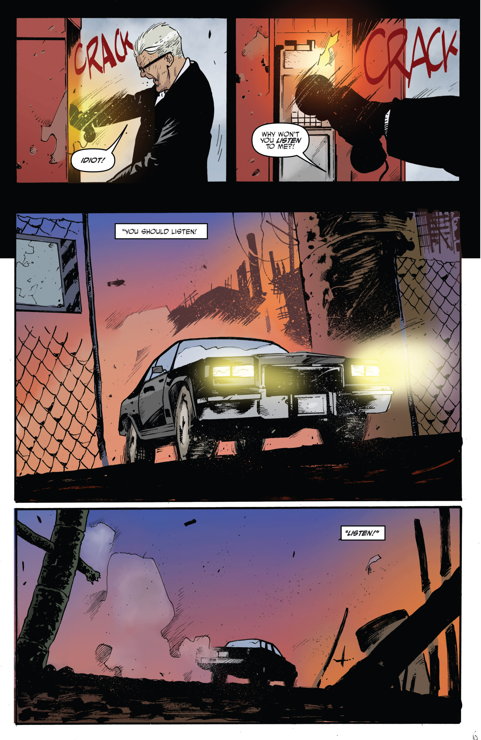 Read online Highlander: The American Dream comic -  Issue #4 - 20