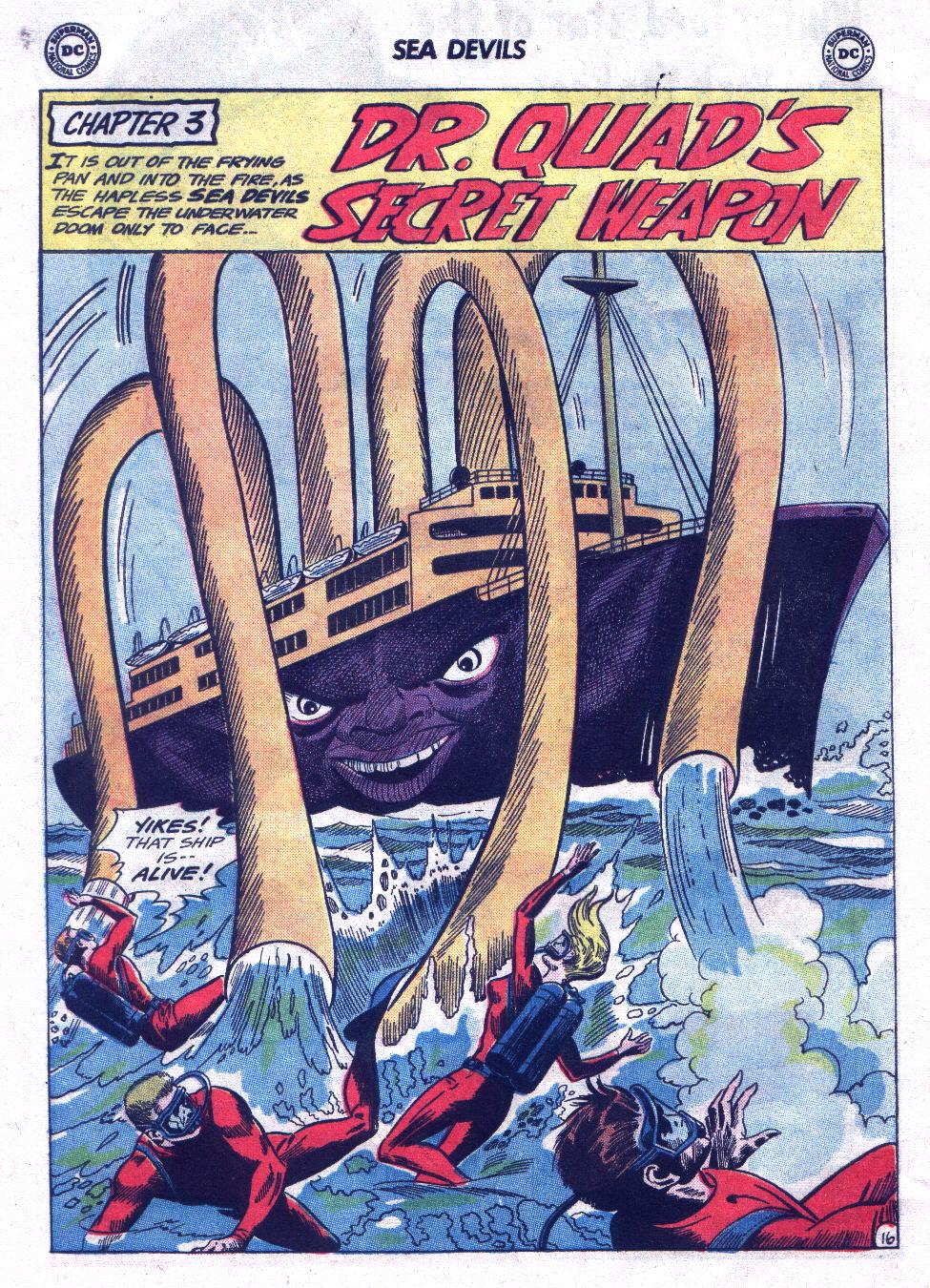 Read online Sea Devils comic -  Issue #21 - 24