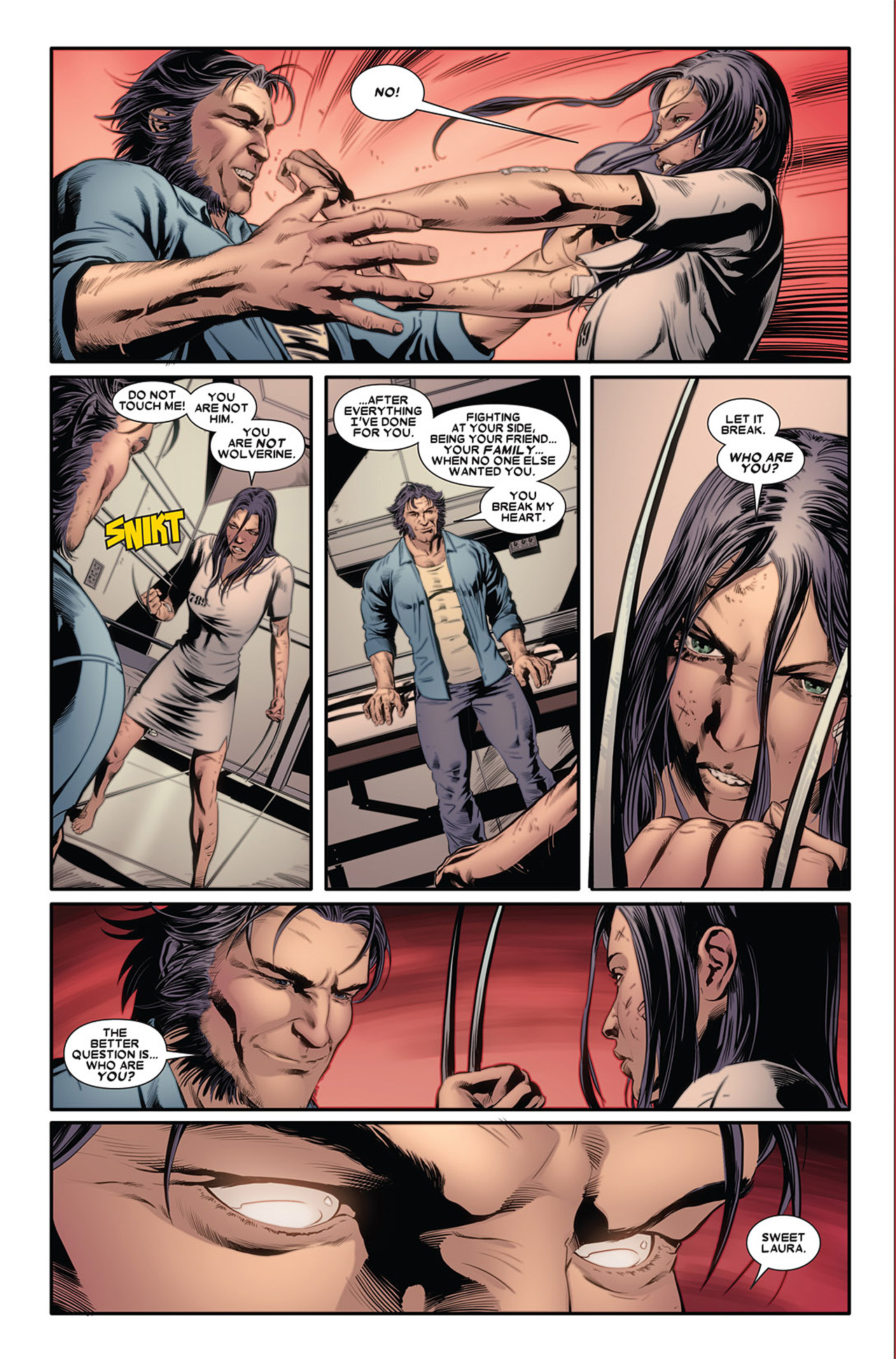 Read online X-23 (2010) comic -  Issue #2 - 16