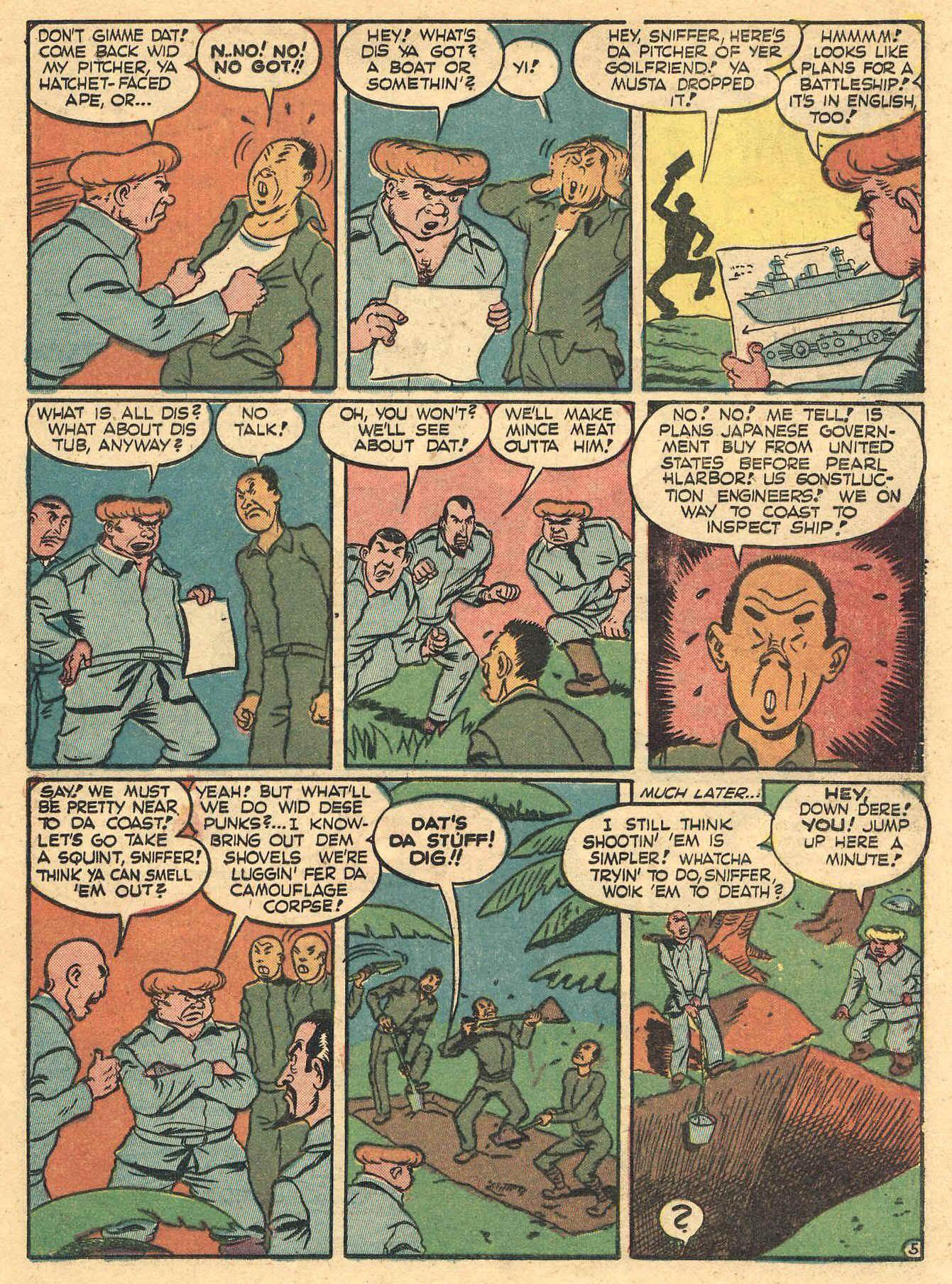 Daredevil (1941) issue 16 - Page 23