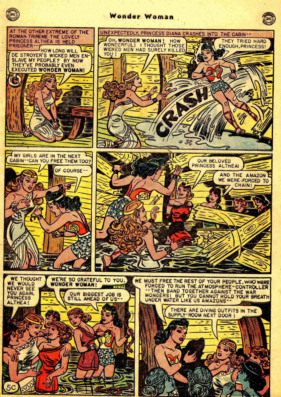 Read online Wonder Woman (1942) comic -  Issue #44 - 30