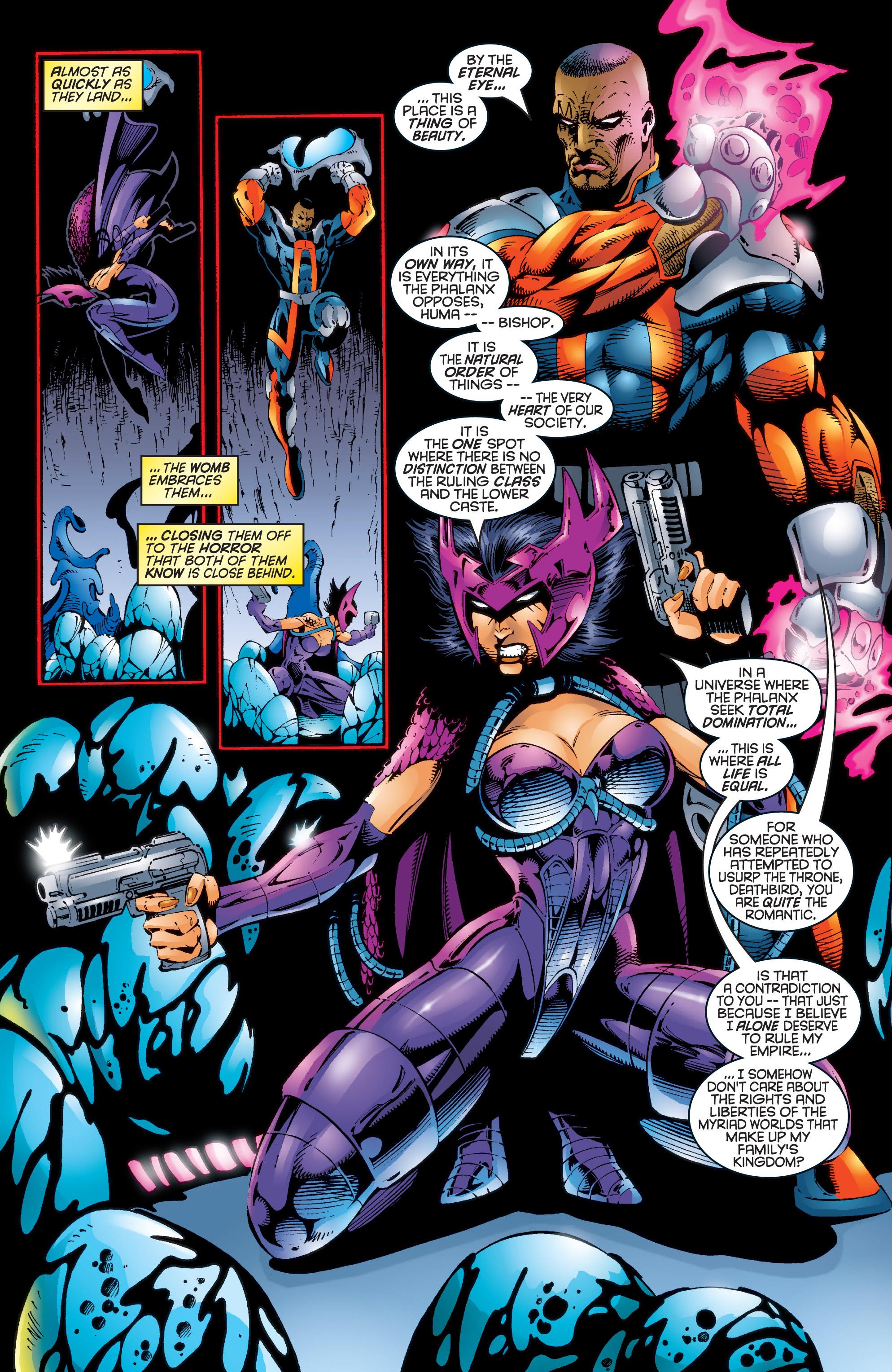 Read online Uncanny X-Men (1963) comic -  Issue #344 - 10
