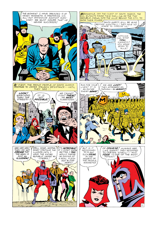 Read online Uncanny X-Men (1963) comic -  Issue #4 - 12
