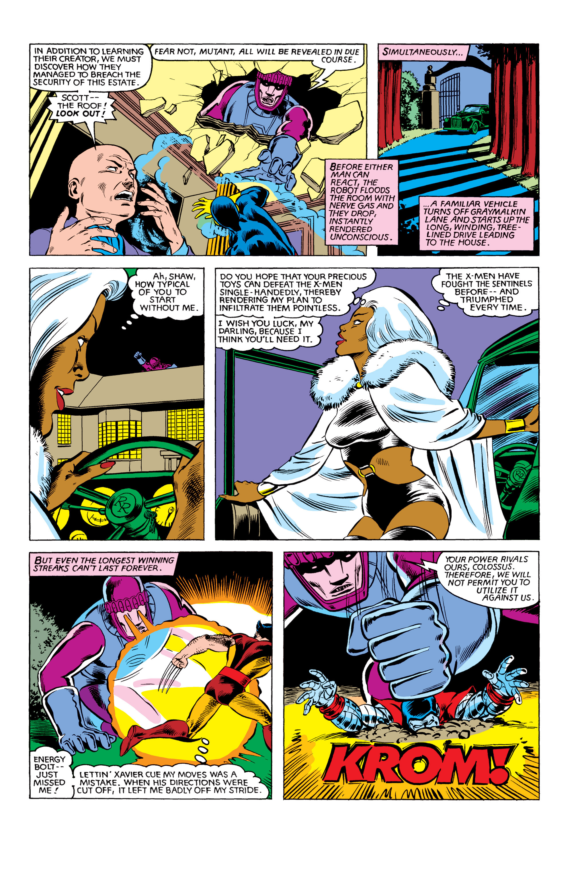 Read online Uncanny X-Men (1963) comic -  Issue #151 - 18