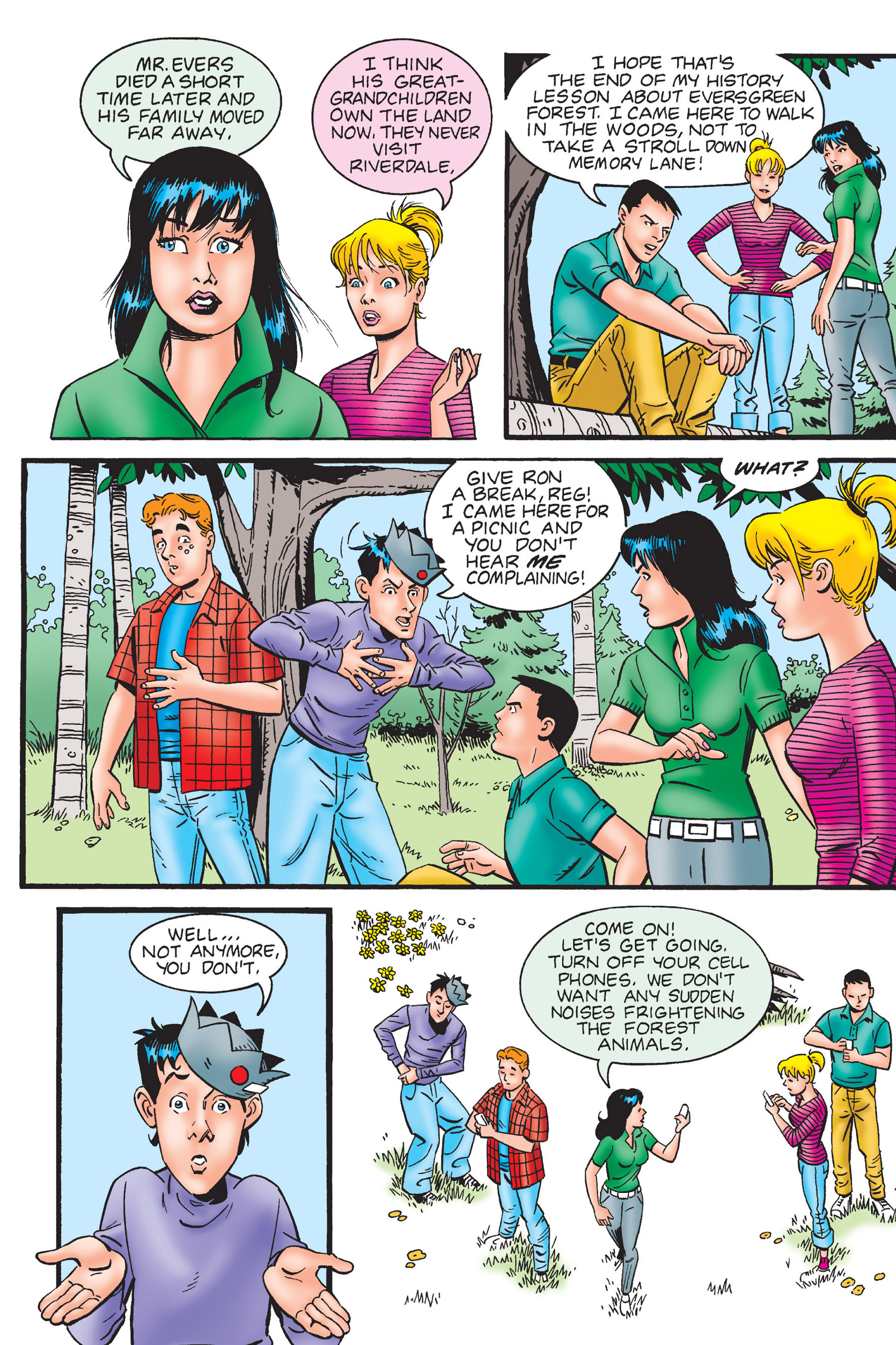 Read online Archie's New Look Series comic -  Issue #4 - 11