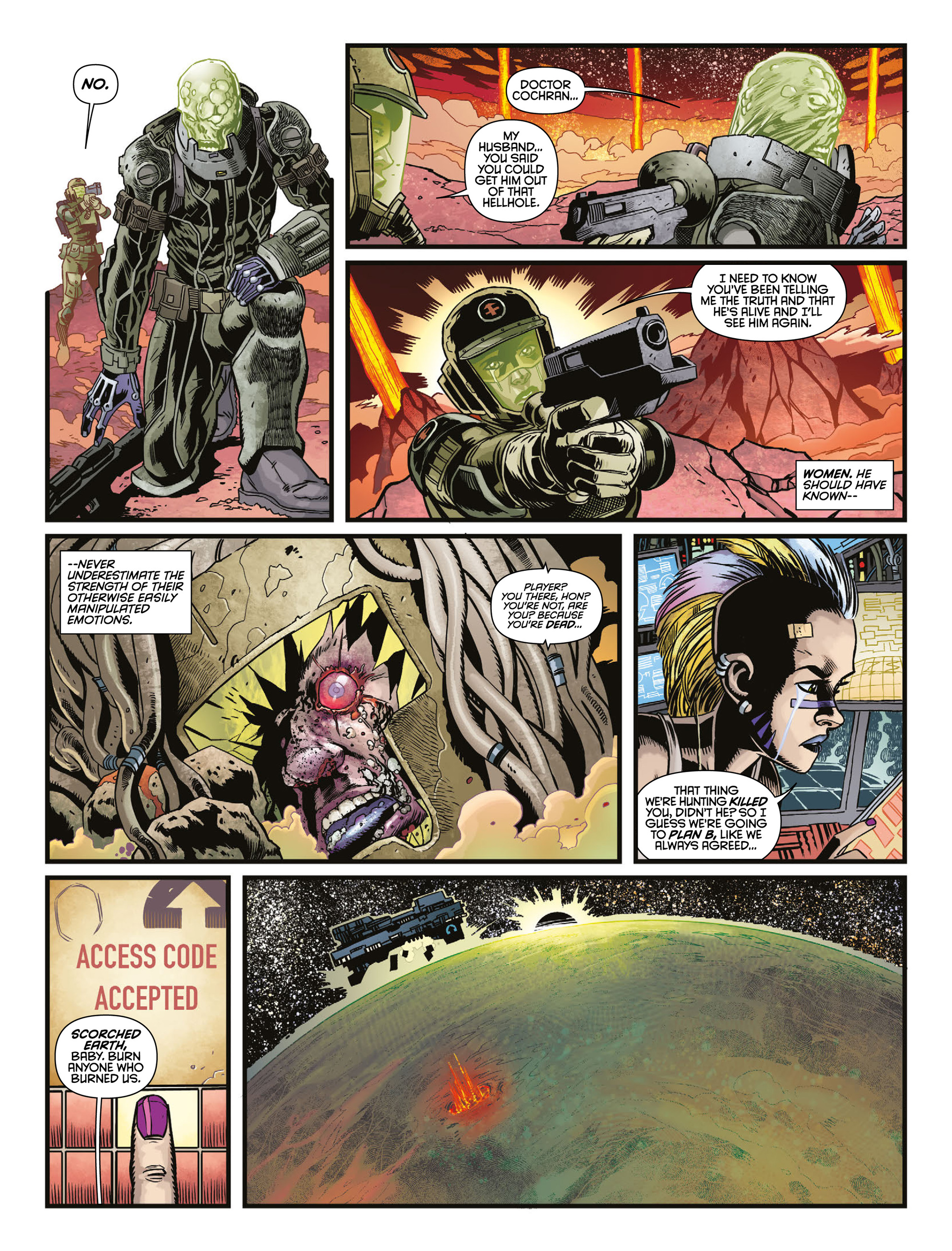 Read online 2000 AD comic -  Issue #2009 - 16