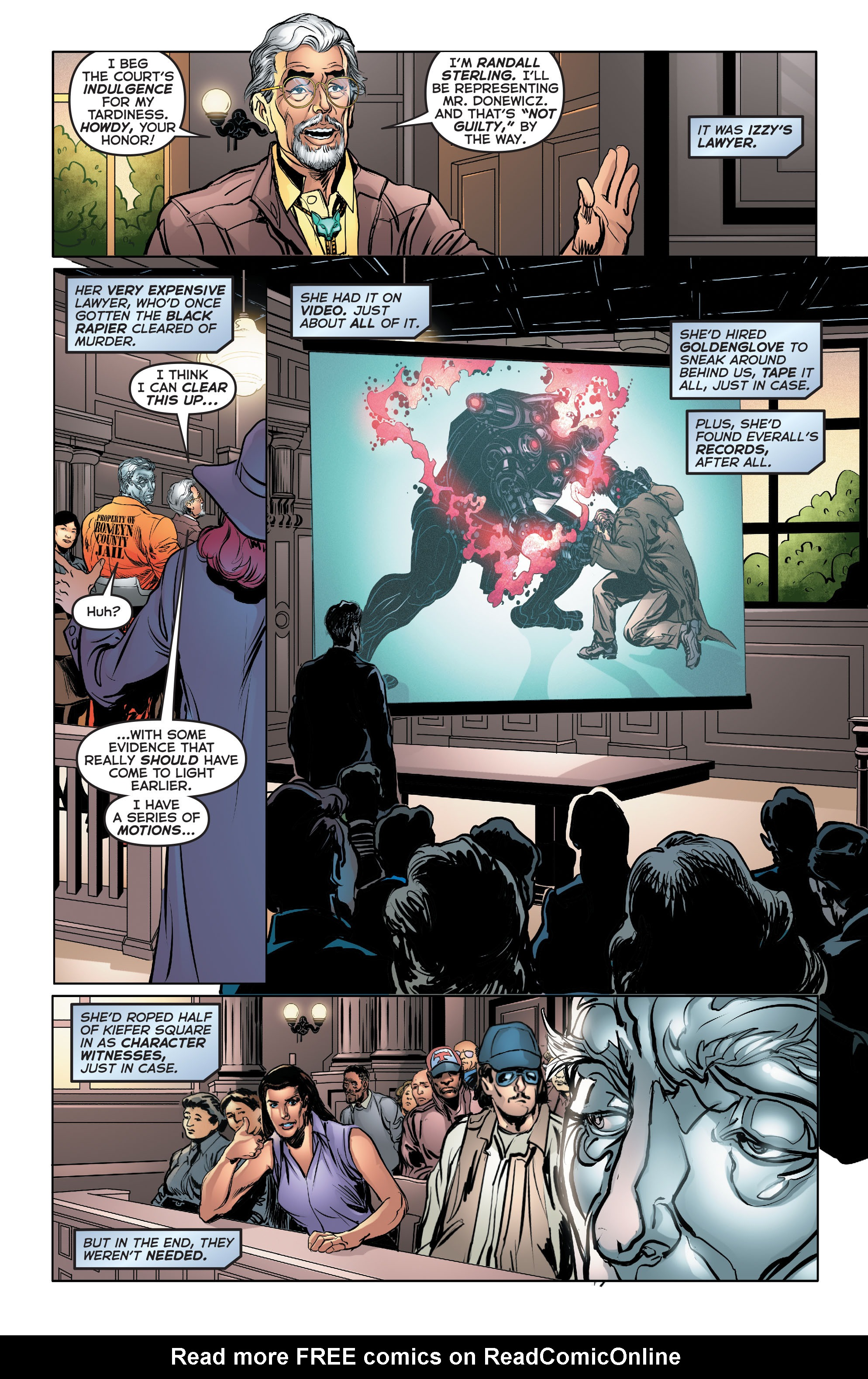 Read online Astro City comic -  Issue #34 - 21